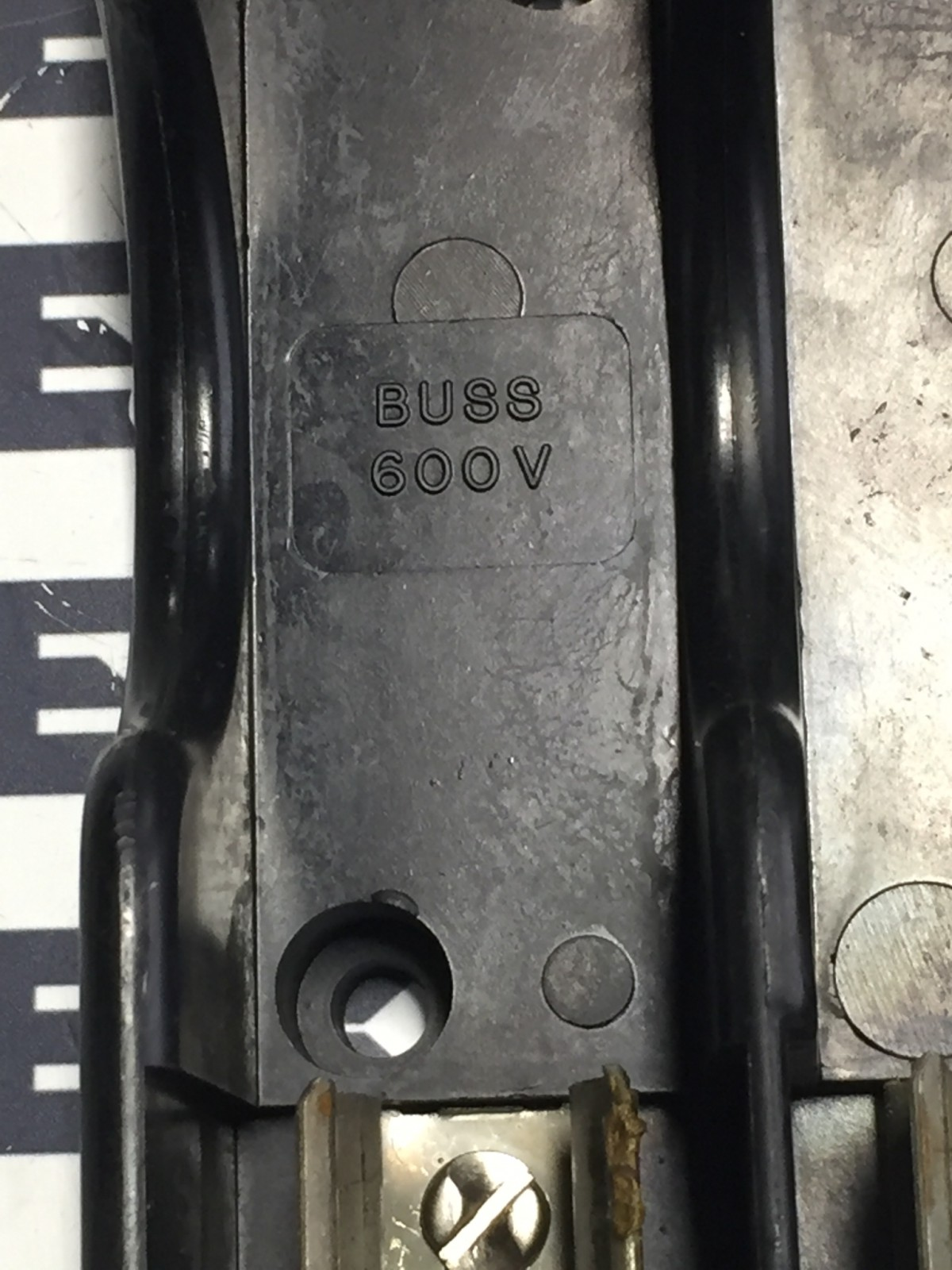 BUSS 6F30/60A SERIES FUSEHOLDER 600V 3POLE