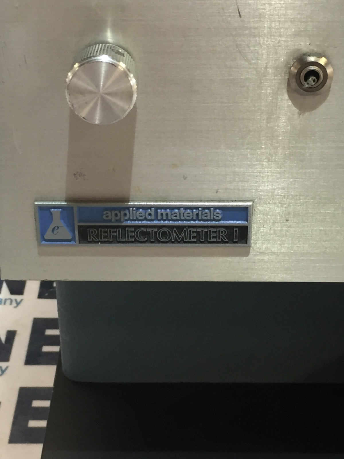 APPLIED MATERIALS REFLECTOMETER I