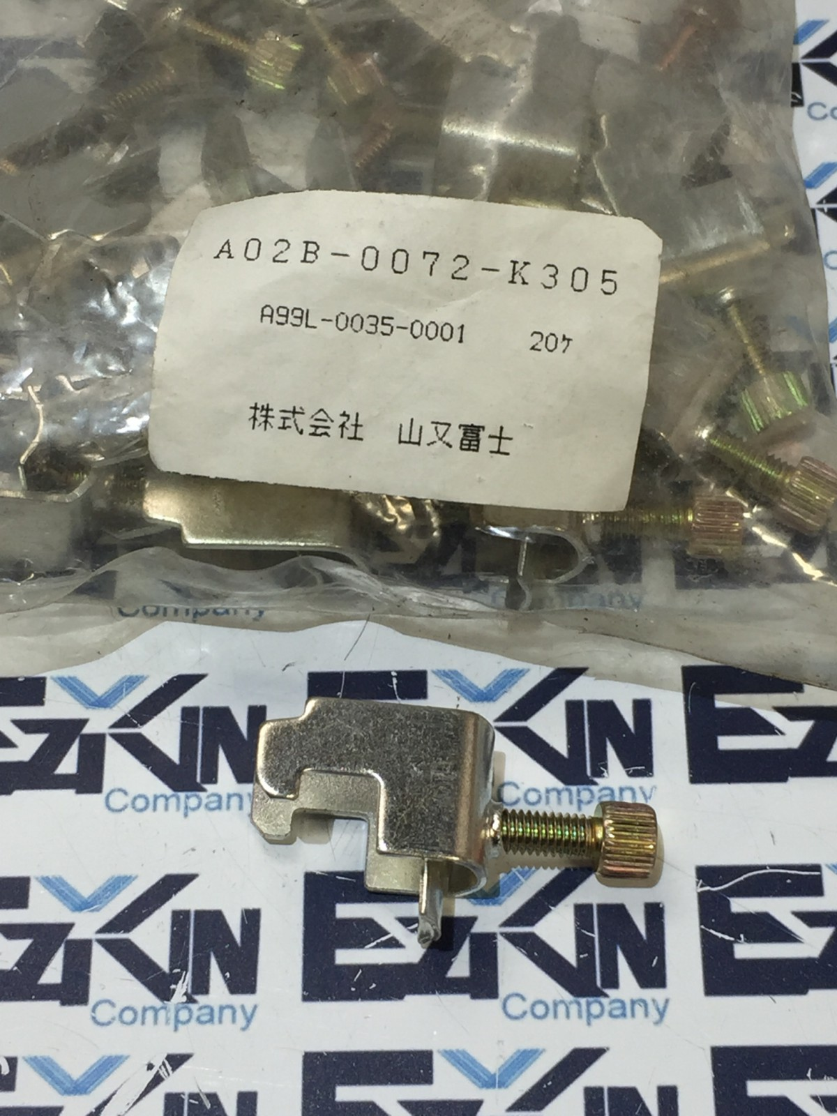 FANUC A02B-0072-K305 CABLE CLAMPS A99L-0035-0001 LOT OF 19