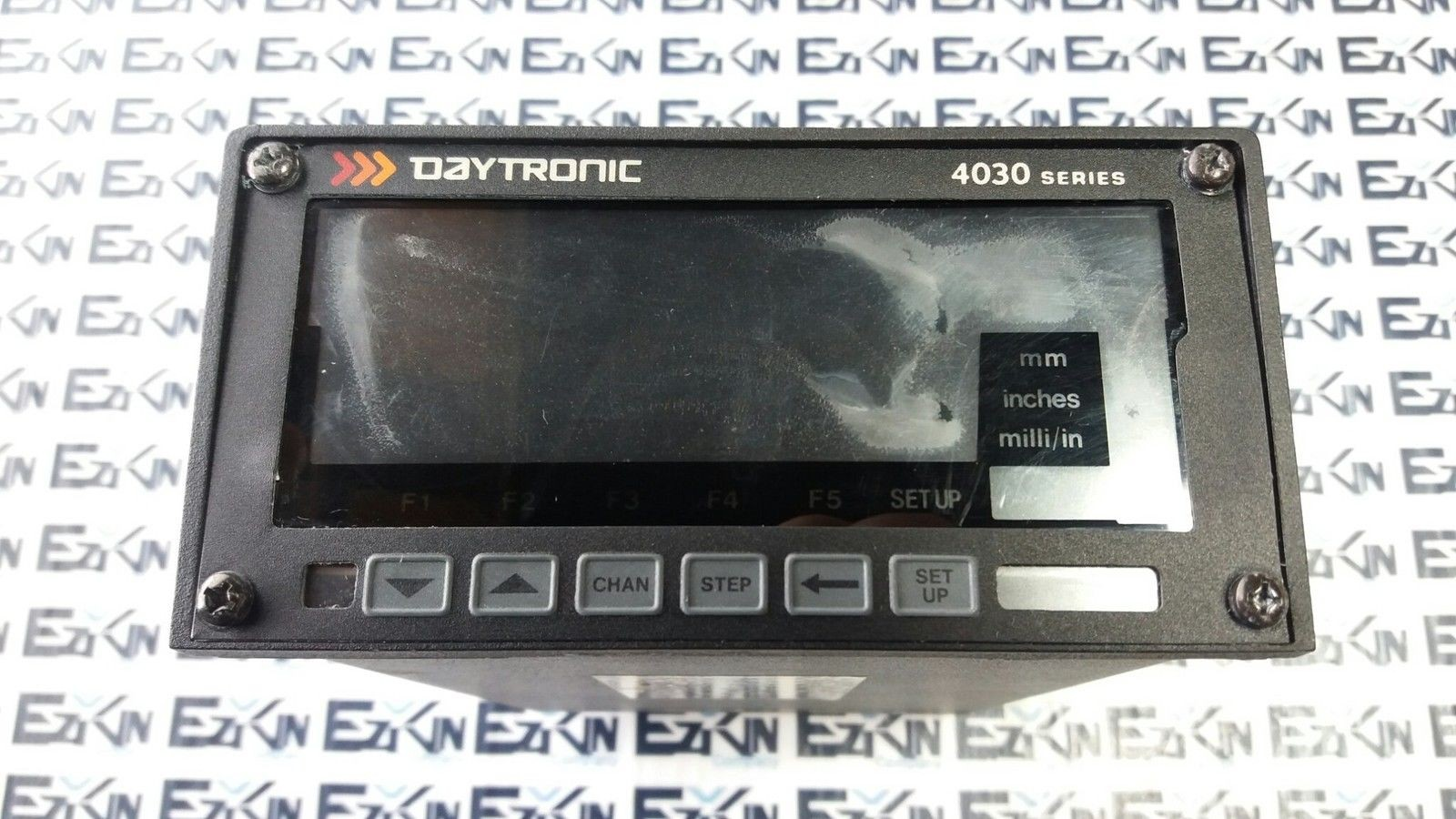 DAYTRONIC 4030 110/220 VAC 50-400HZ SINGLE-CHANNEL AC LVDT CONTROLLER
