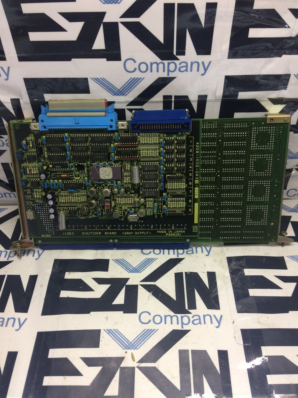 FANUC A16B-1211-0140/05C PC BOARD VISION ENGINE W/ A20B-1002-0430/01A BOARD  16X10X6