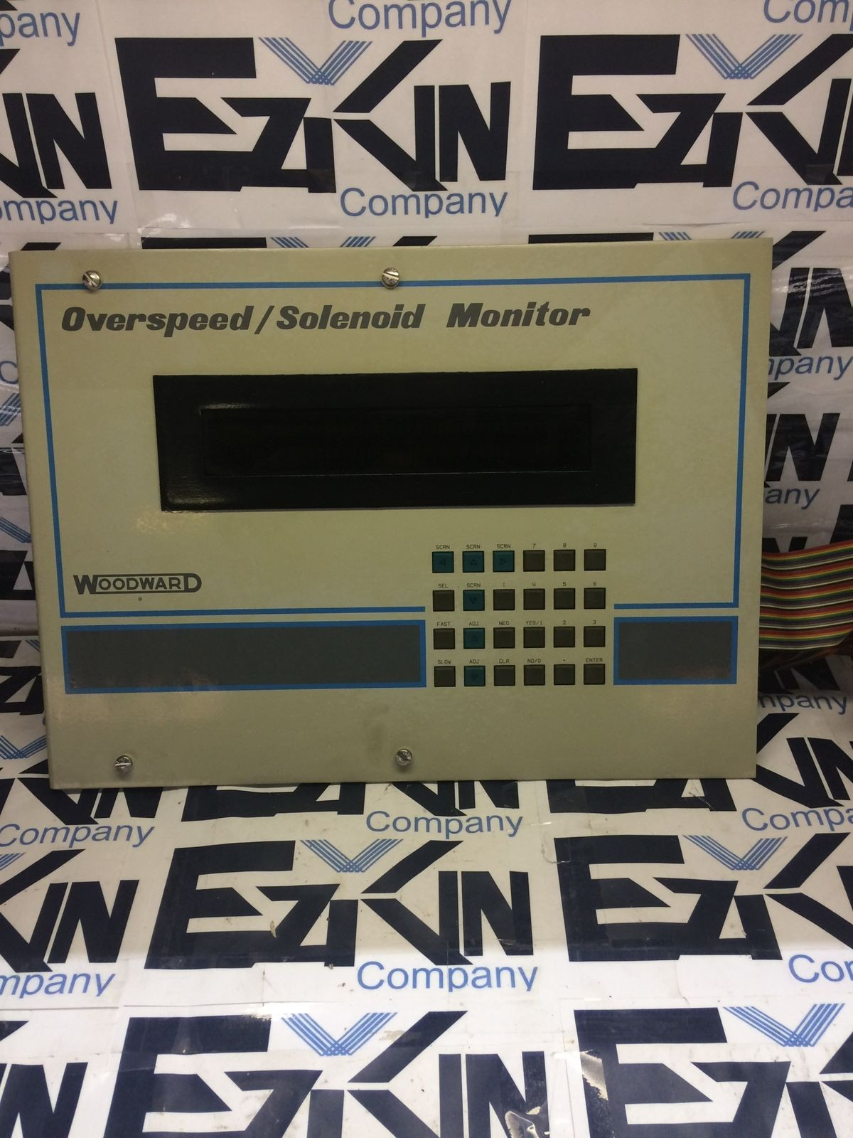 WOODWARD 8237-042 REV.D OVERSPEED/SOLENOID MONITOR
