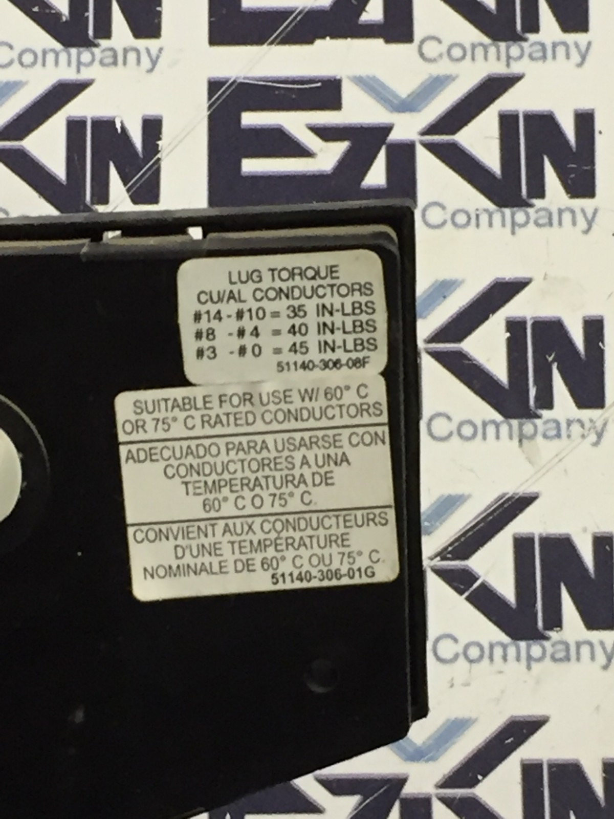 Square D 9422TCF33 Ser A 30A Disconnect with 40566-041-51 Fuse Block