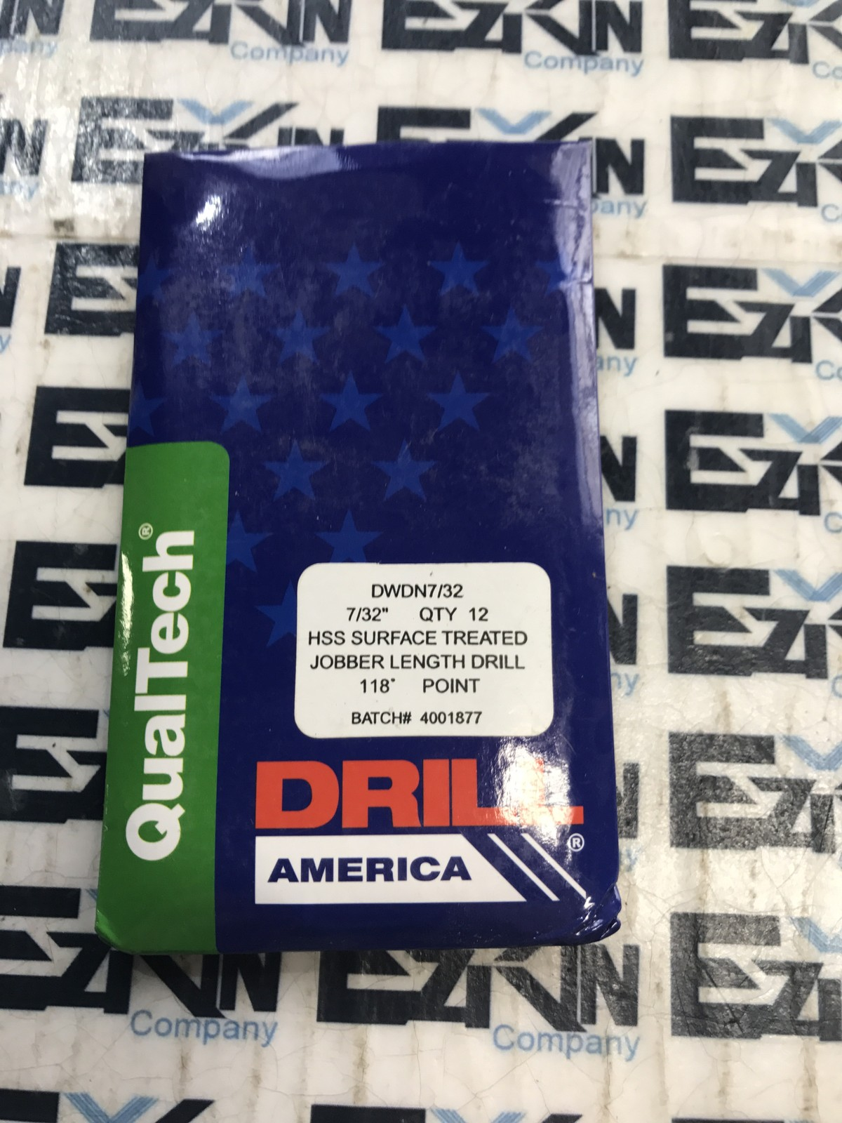 QualTech DWDN7/32 HSS SURFACE TREATED JOBBER LENGHT DRILL QTY 12