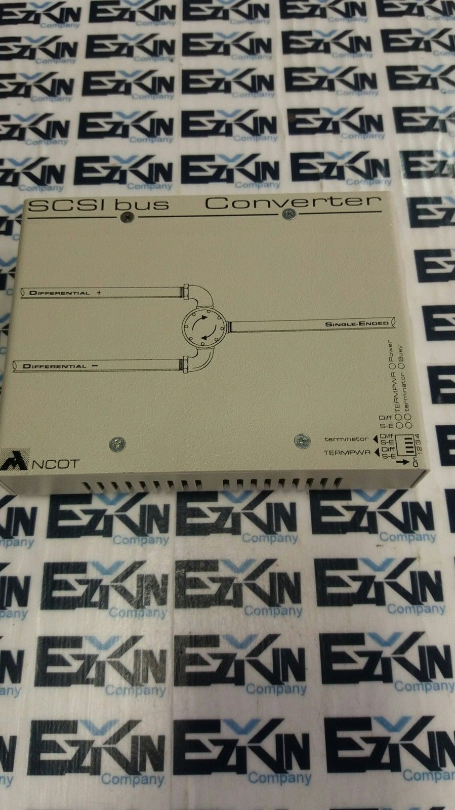 ANCOT SCSI BUS CONVERTER DifferentiaL model SED-616M