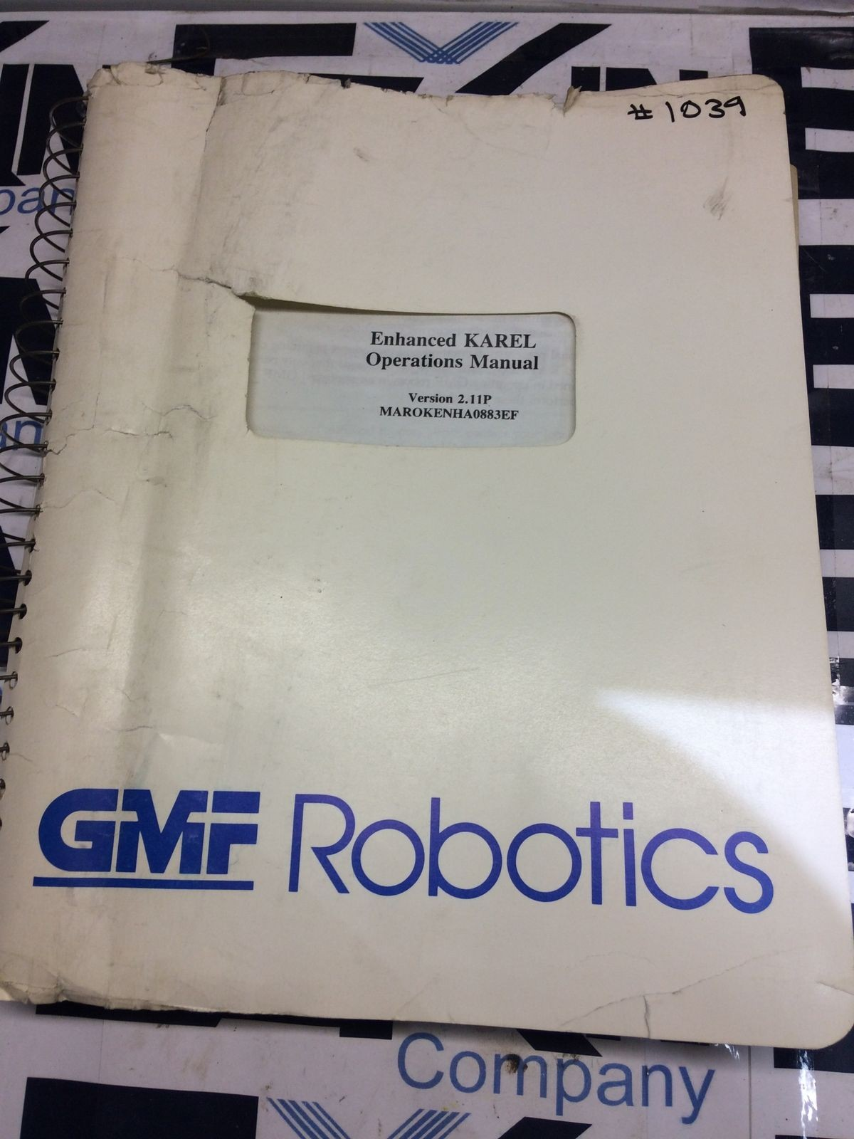 Fanuc KAREL Operations Manual GMF Robotics V 2.11P