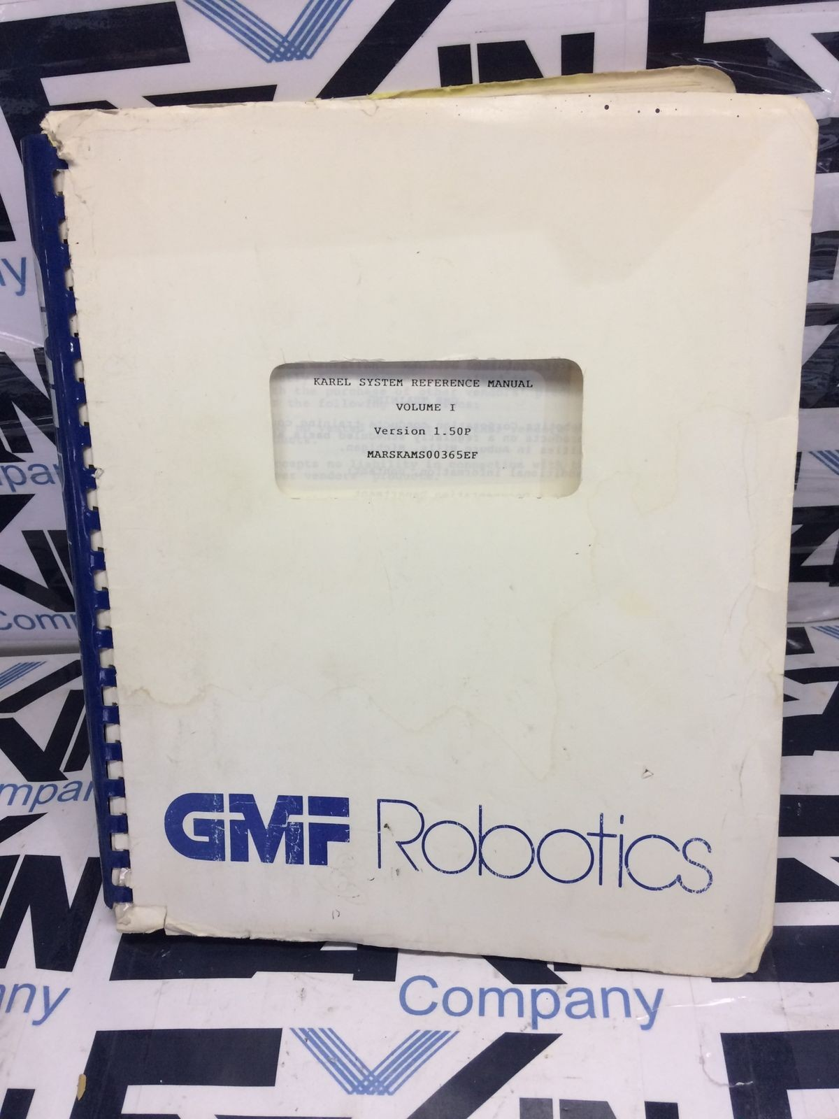 Fanuc KAREL Operations Manual GMF Robotics V1.50P VOL.1