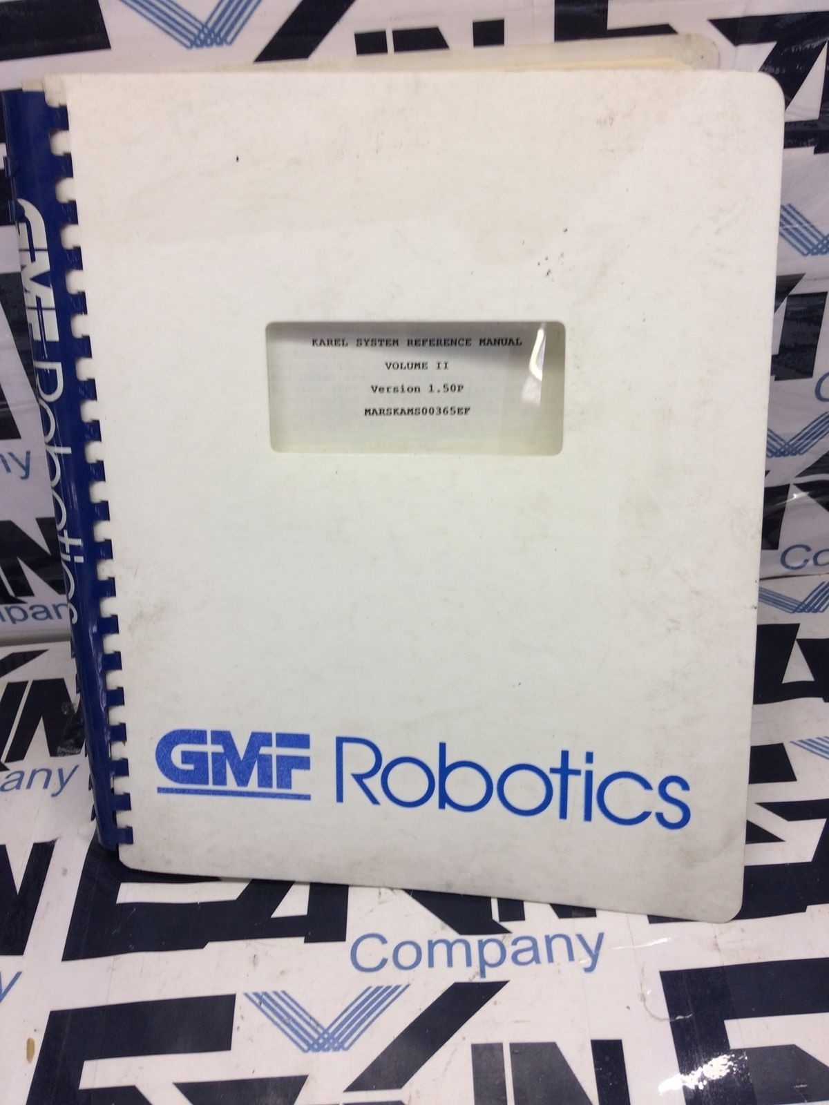 Fanuc KAREL Operations Manual GMF Robotics V1 1.50P VOLUMEN 2