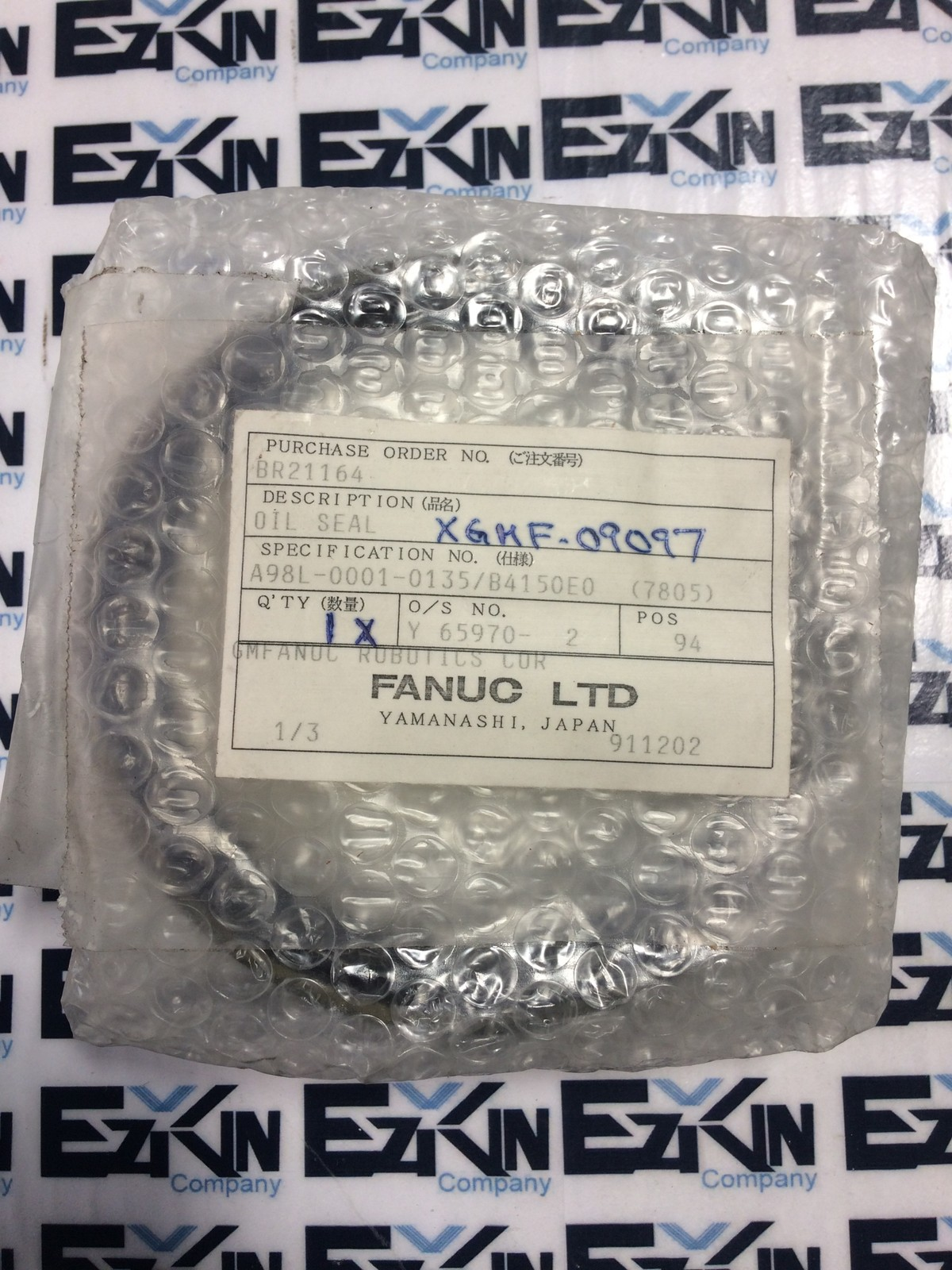 FANUC A98L-0001-0135/B4150E0 OIL SEAL