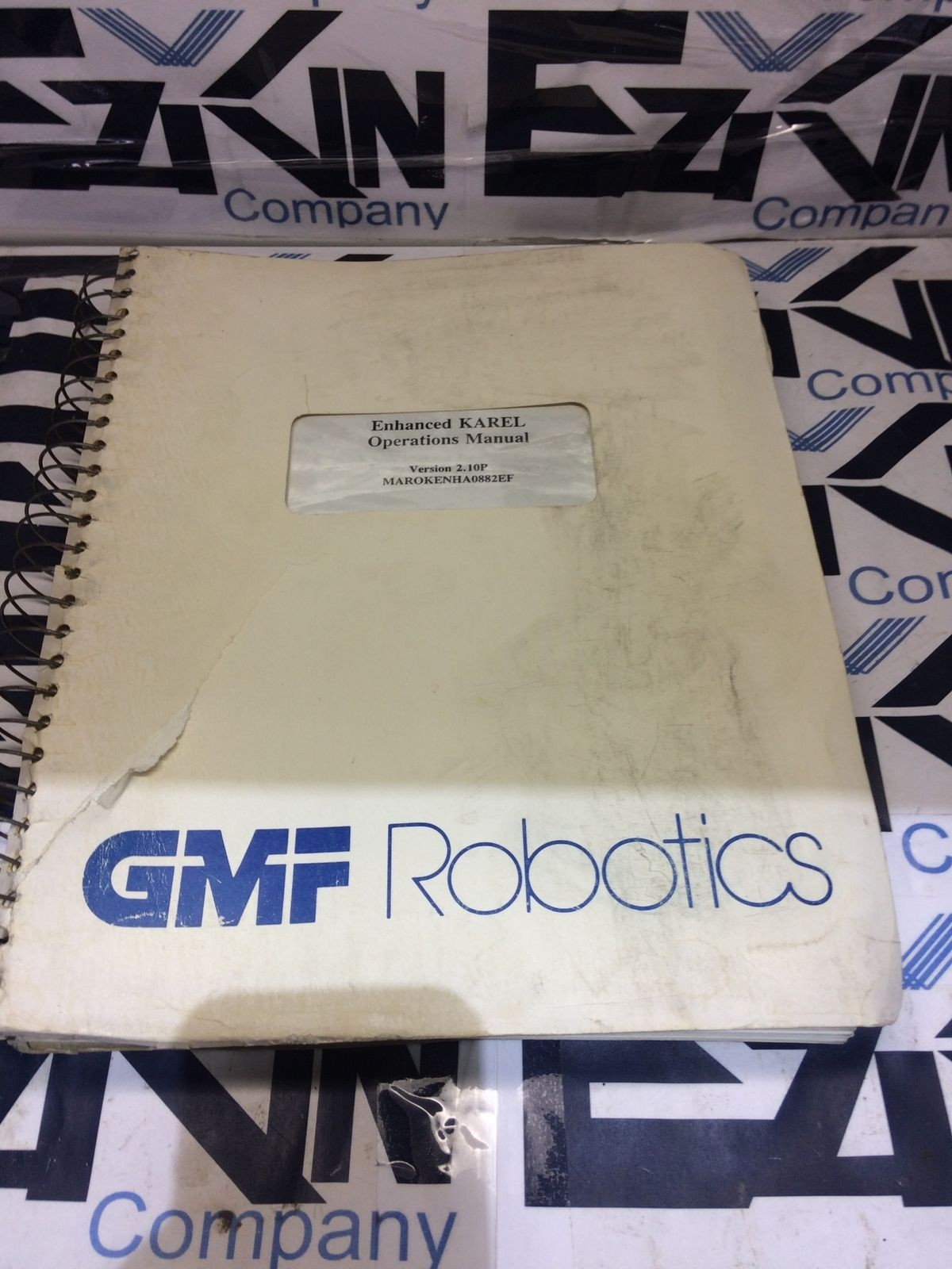 GMF KAREL OPERATIONS MANUAL V2.10P