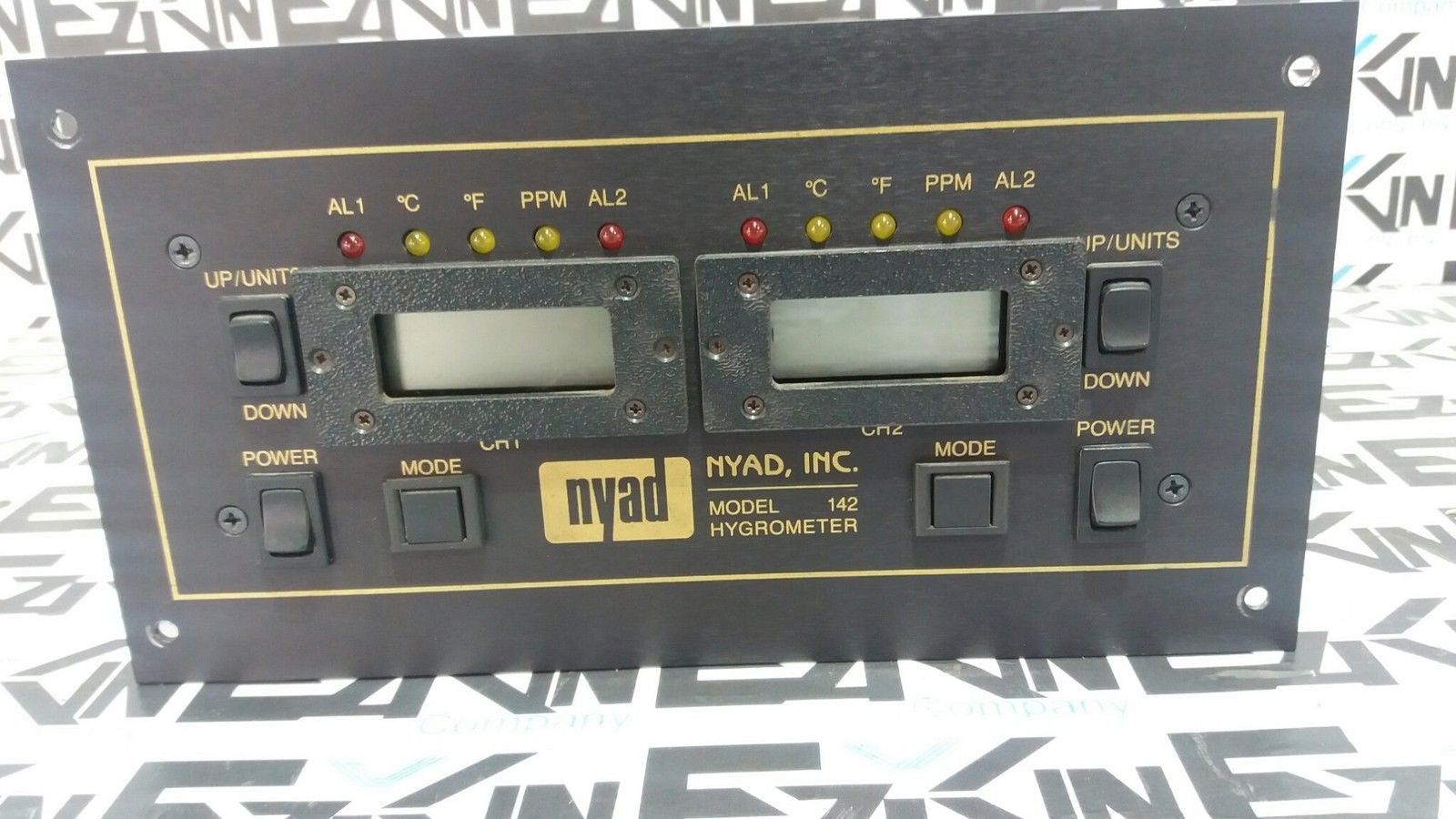 NYAD MA-142 HYGROMETER DEWPOINT MOISTURE ANALYZER MODEL