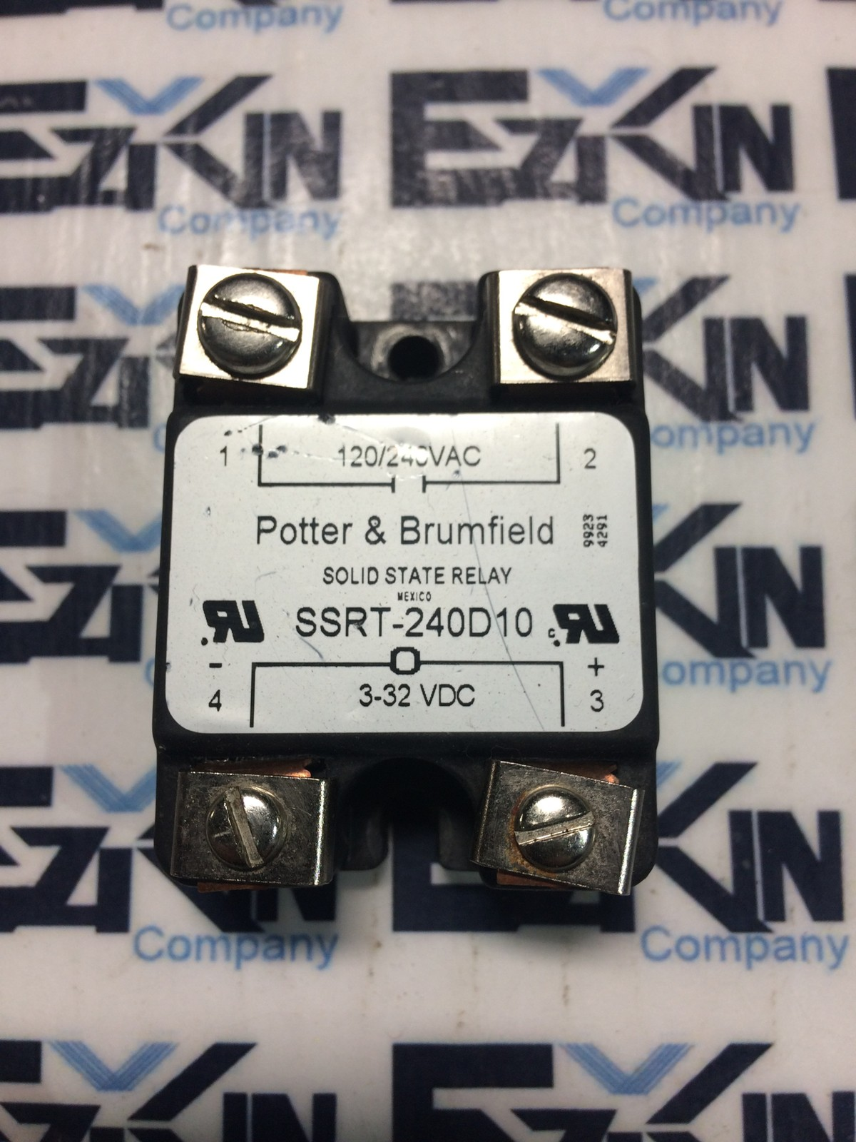 Potter & Brumfield SSRT-240D10 Solid State Relay 3-32 VDC
