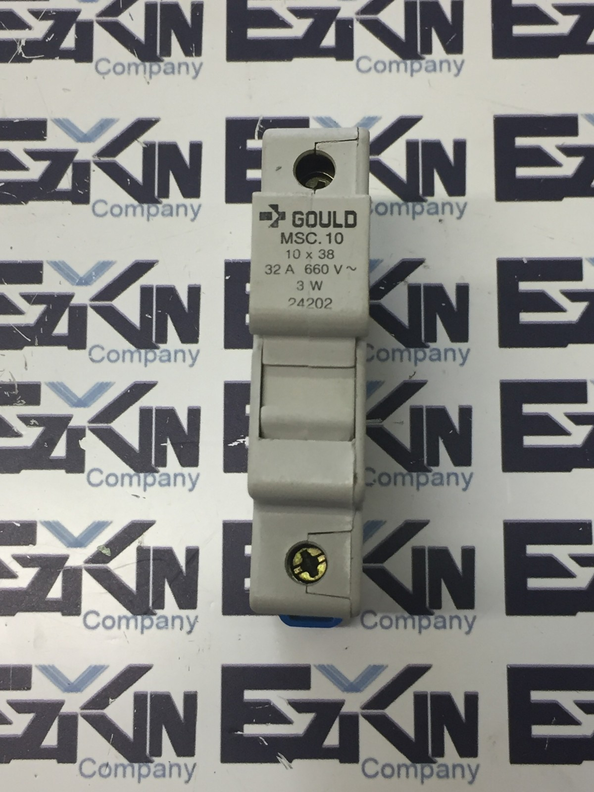 Gould MSC.10 10 x 38 24202 Dual Fuse Holder