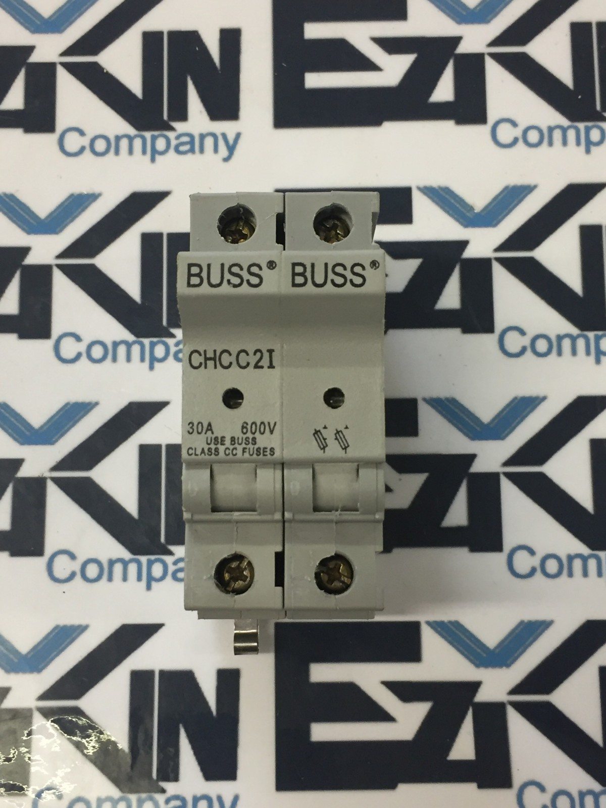 BUSS CHCC2I 2-POLE FUSE HOLDER 30 AMP 600 VAC