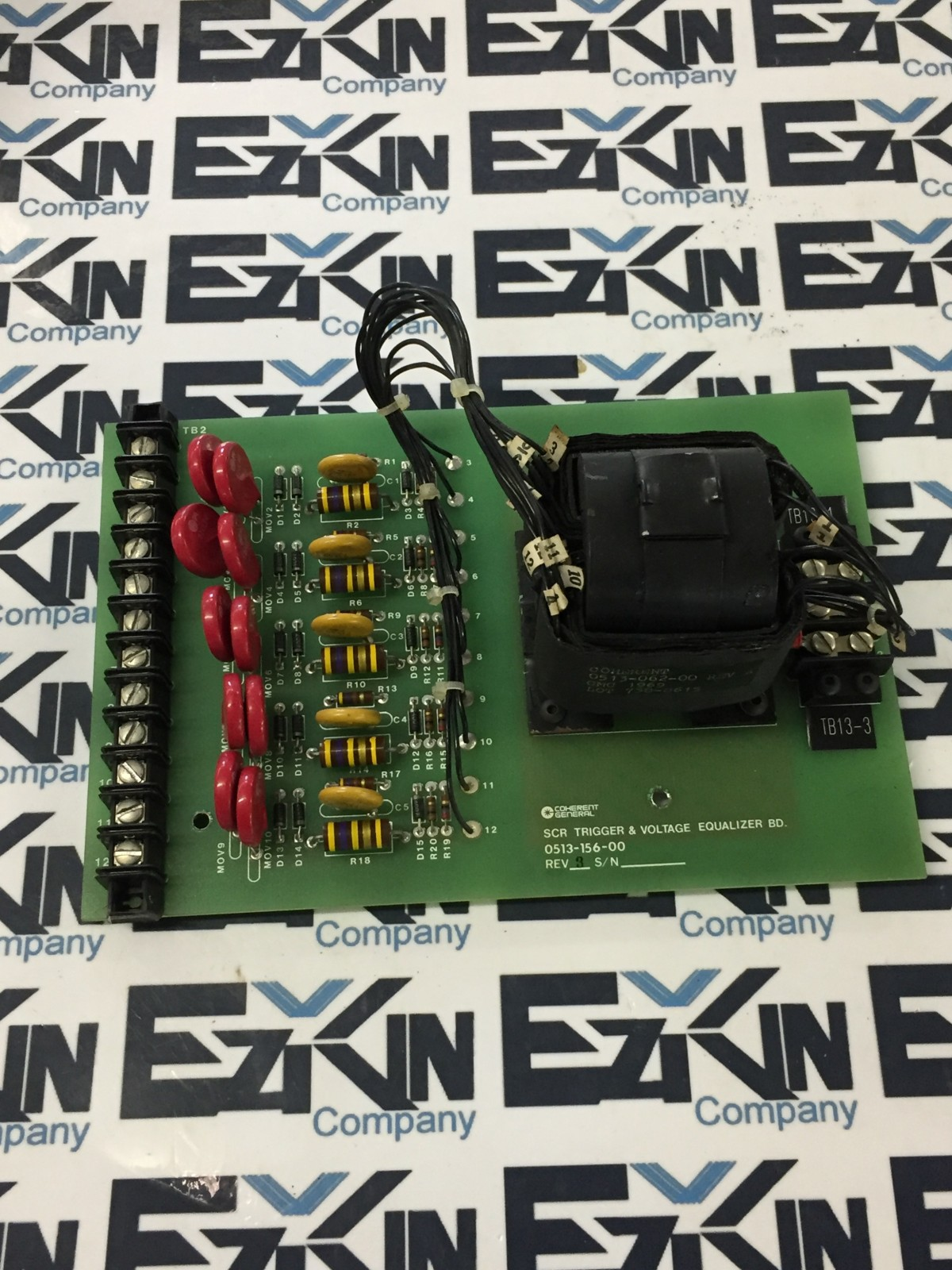 Coherent General SCR Trigger & Voltage Equalizer board 0513-156-00 rev.3