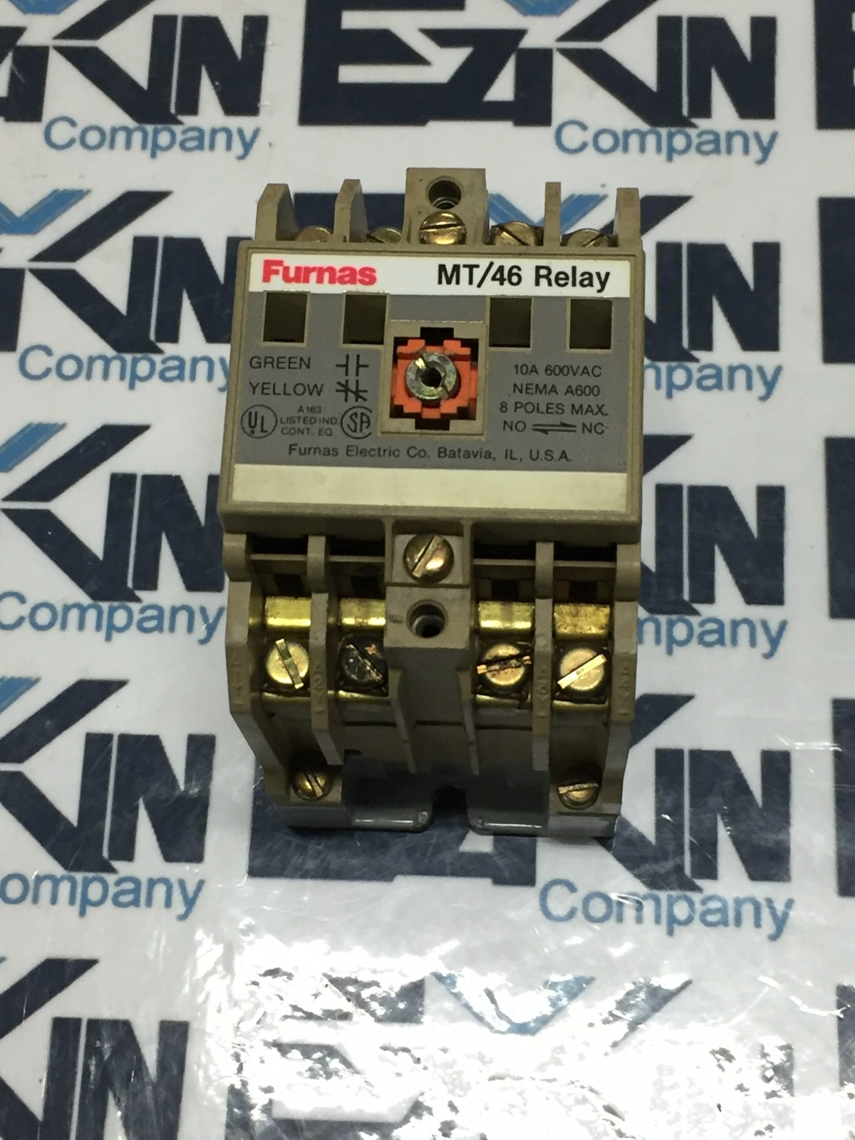 Furnas MT/46 Control Relay 600V 10A 46MT40F