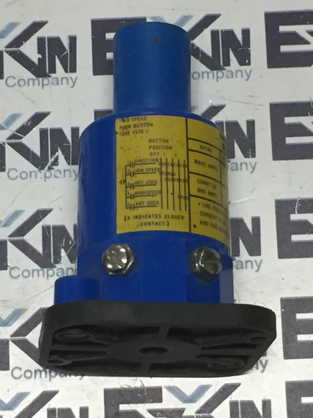 P&H 100E4538-2 Pushbutton Switch 2-Speed