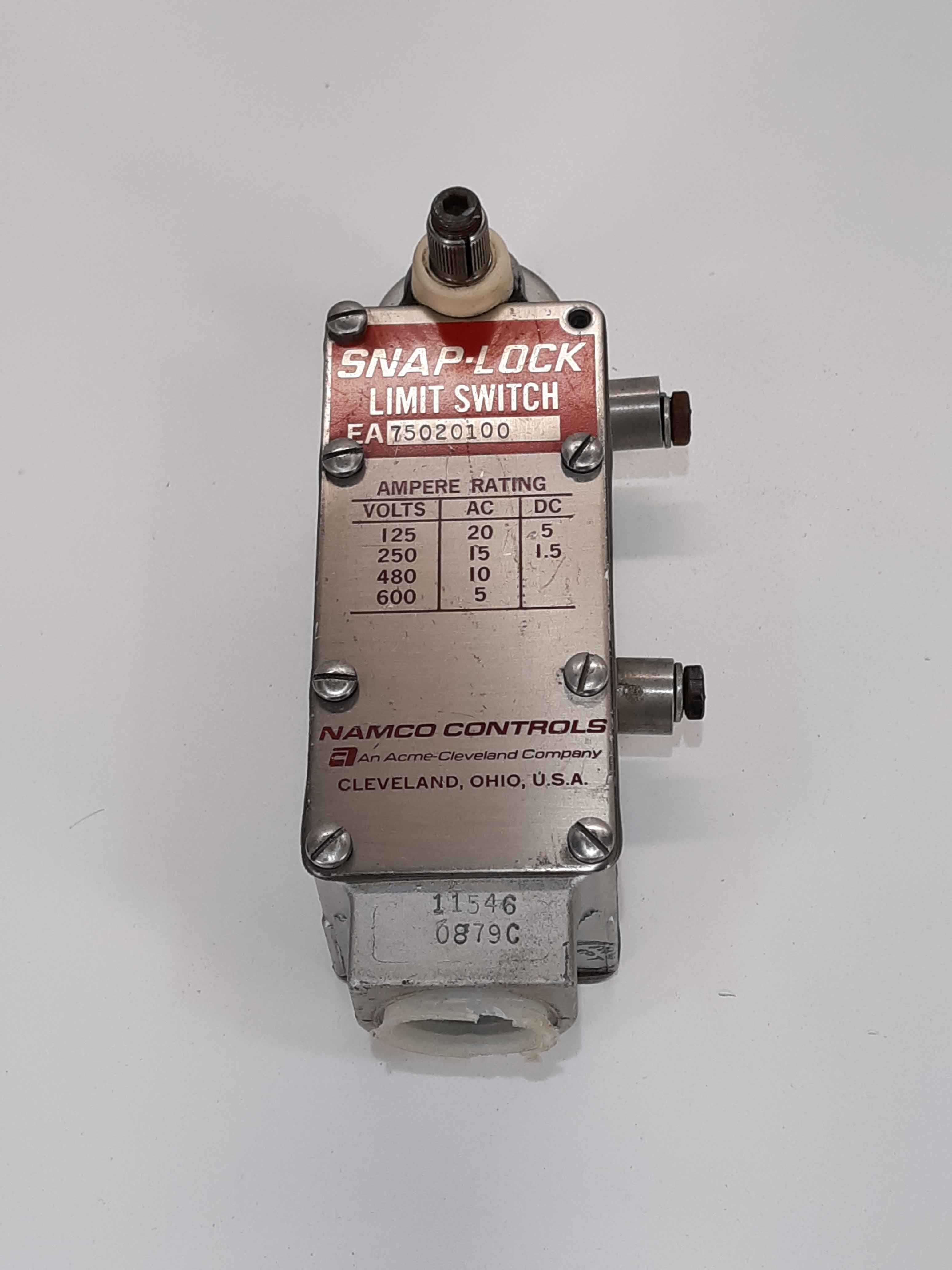 Namco EA75020100 Snap-Lock Limit Switch