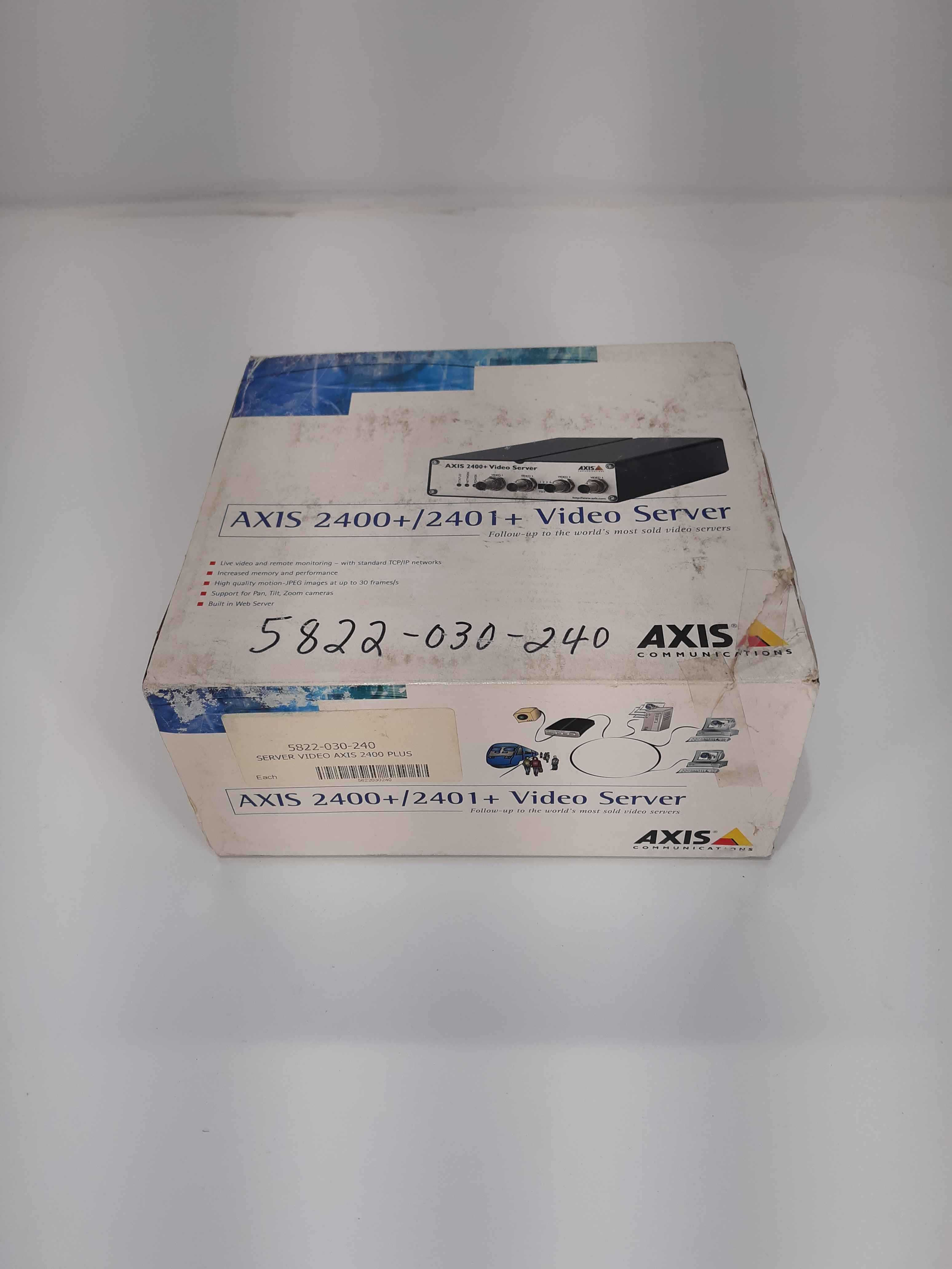 Axis 2400+Video Server 4-Channel Video Server