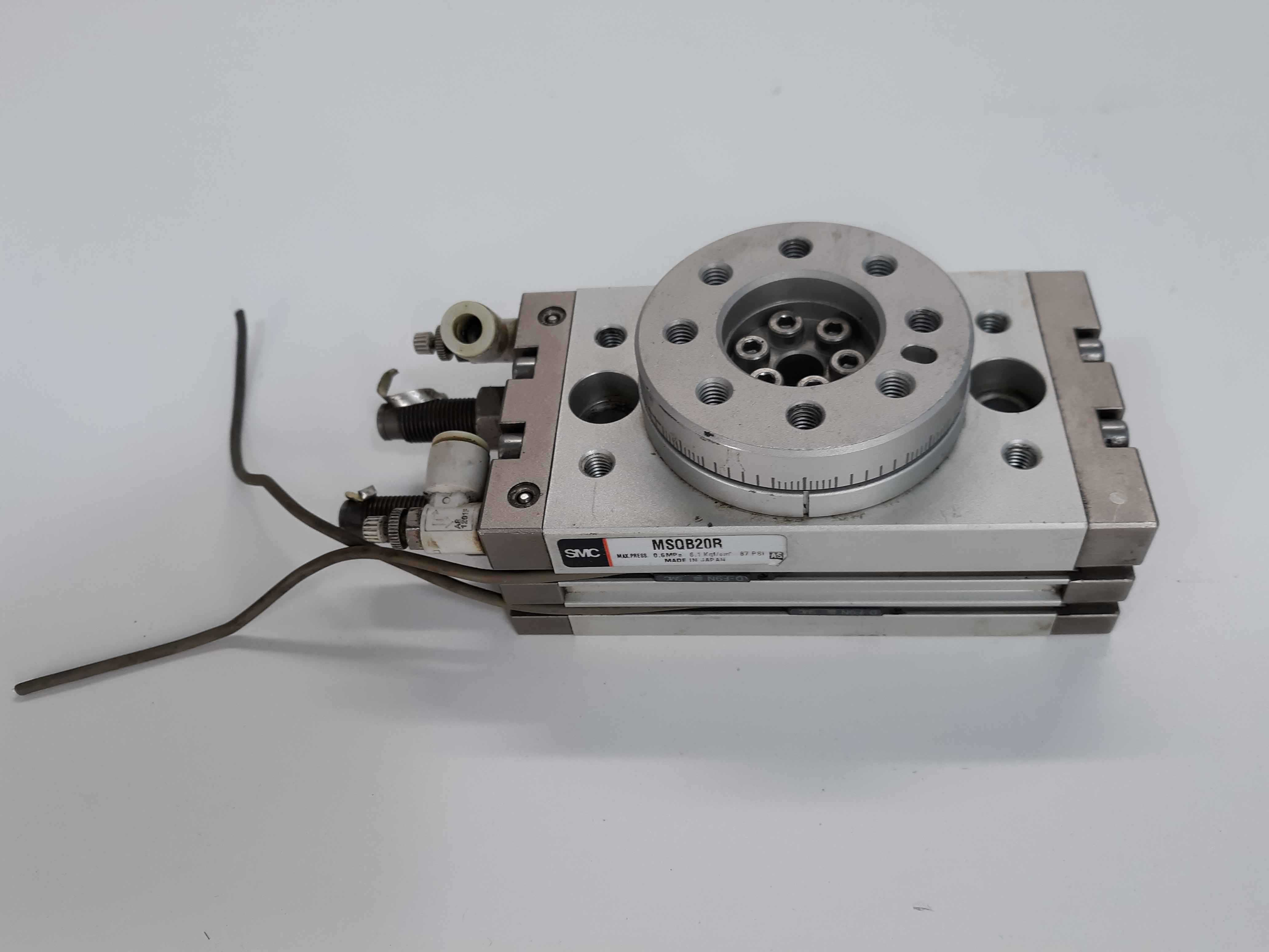 SMC MSQB20R Actuator Rotary Table