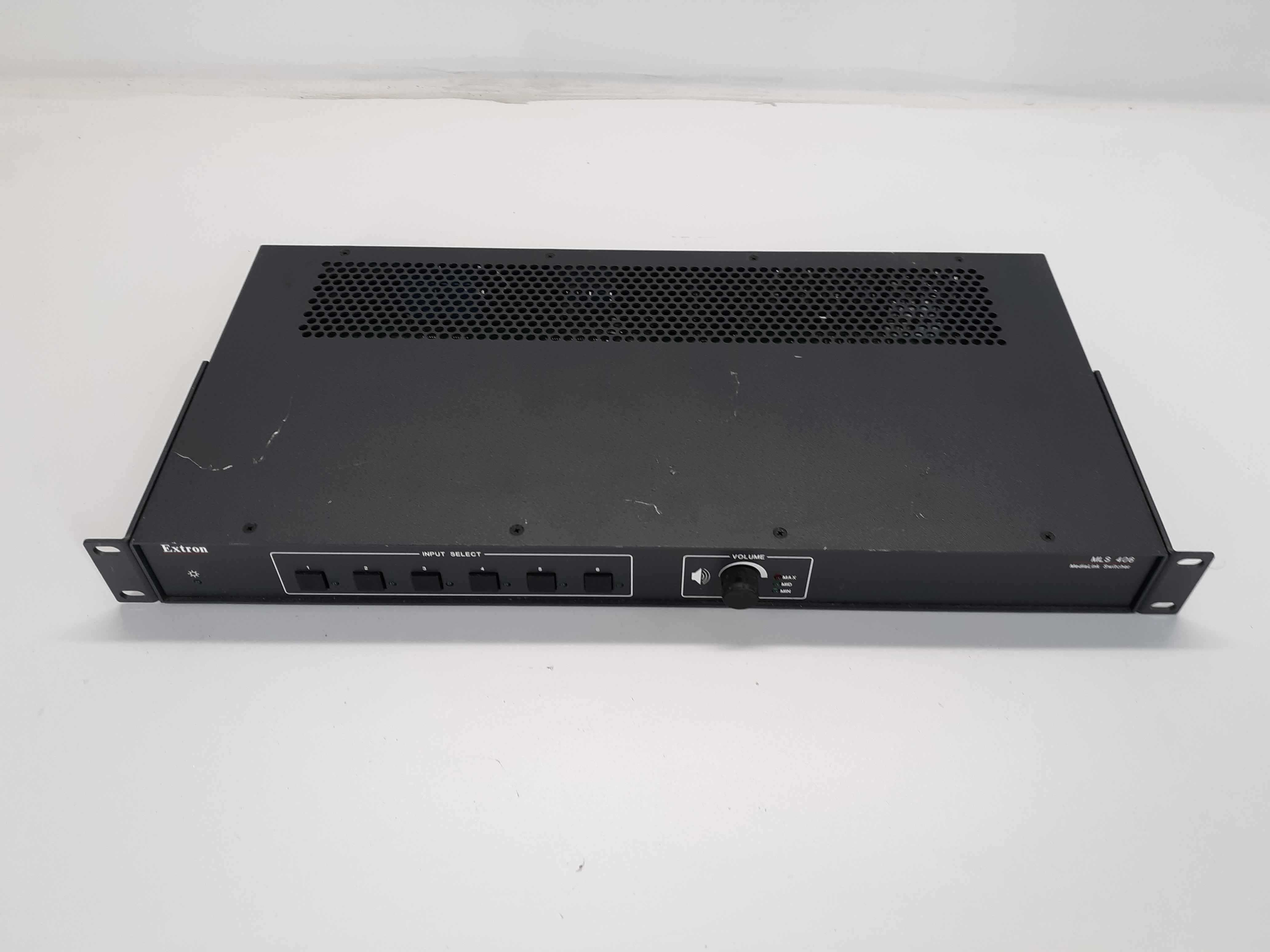 Extron MLS 406MA 6 Input MediaLink Switcher with Mono Audio Amplifier 280MHz