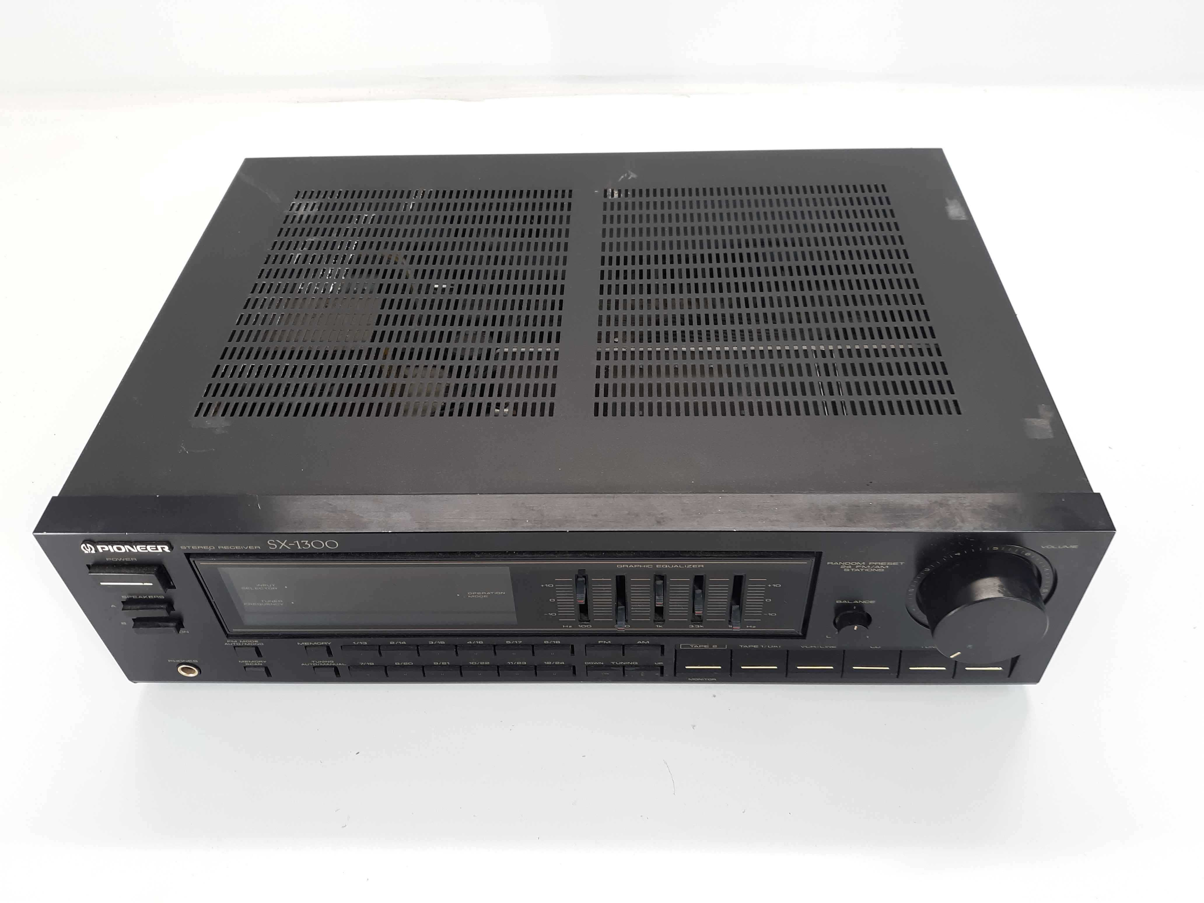 Pioneer Audio Video Control SX-1300 AM FM Stereo 40 Watt Receiver