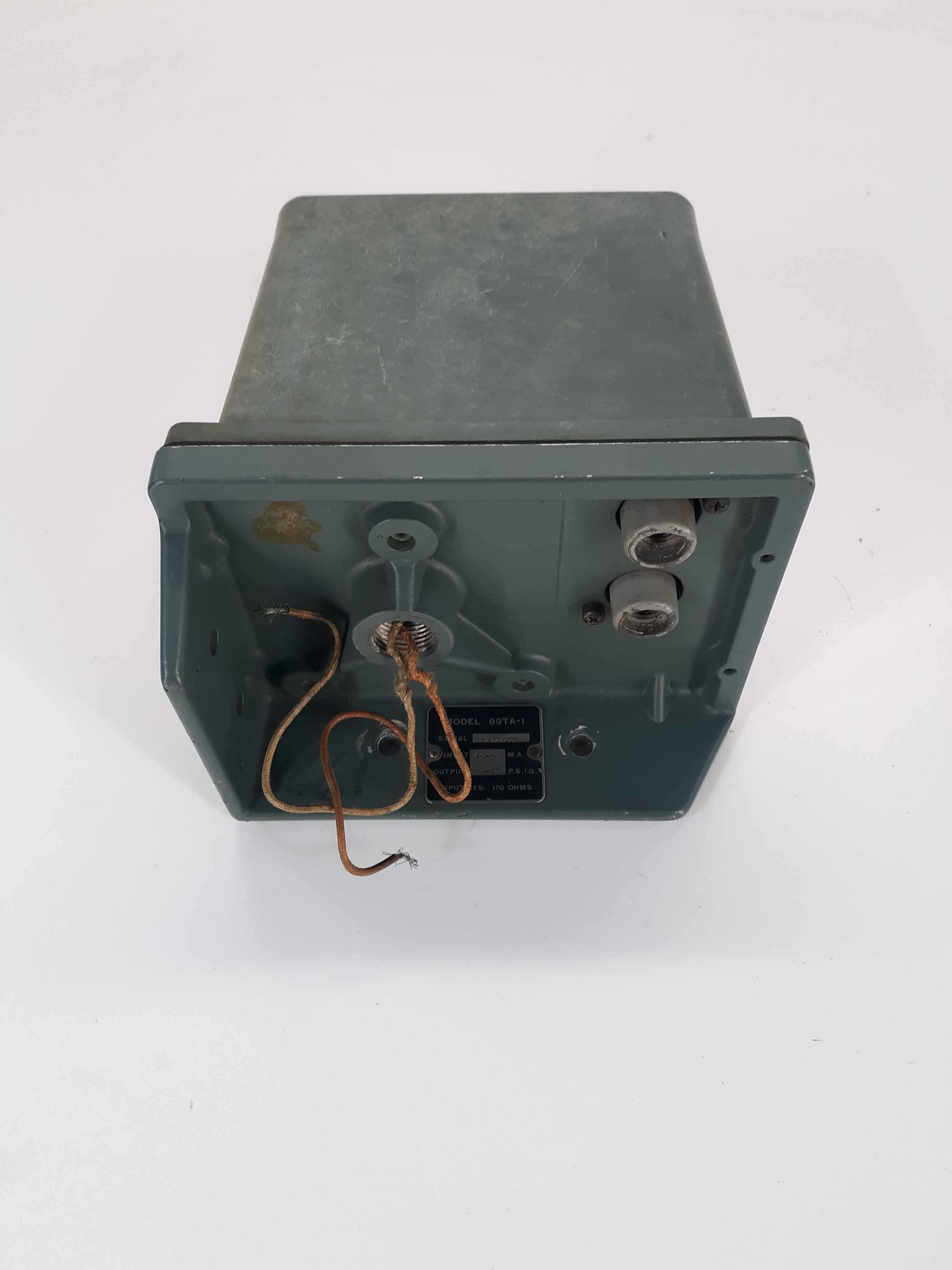 Foxboro 69TA-1 Current To Air Transducer 10-50mpa 3-15psi