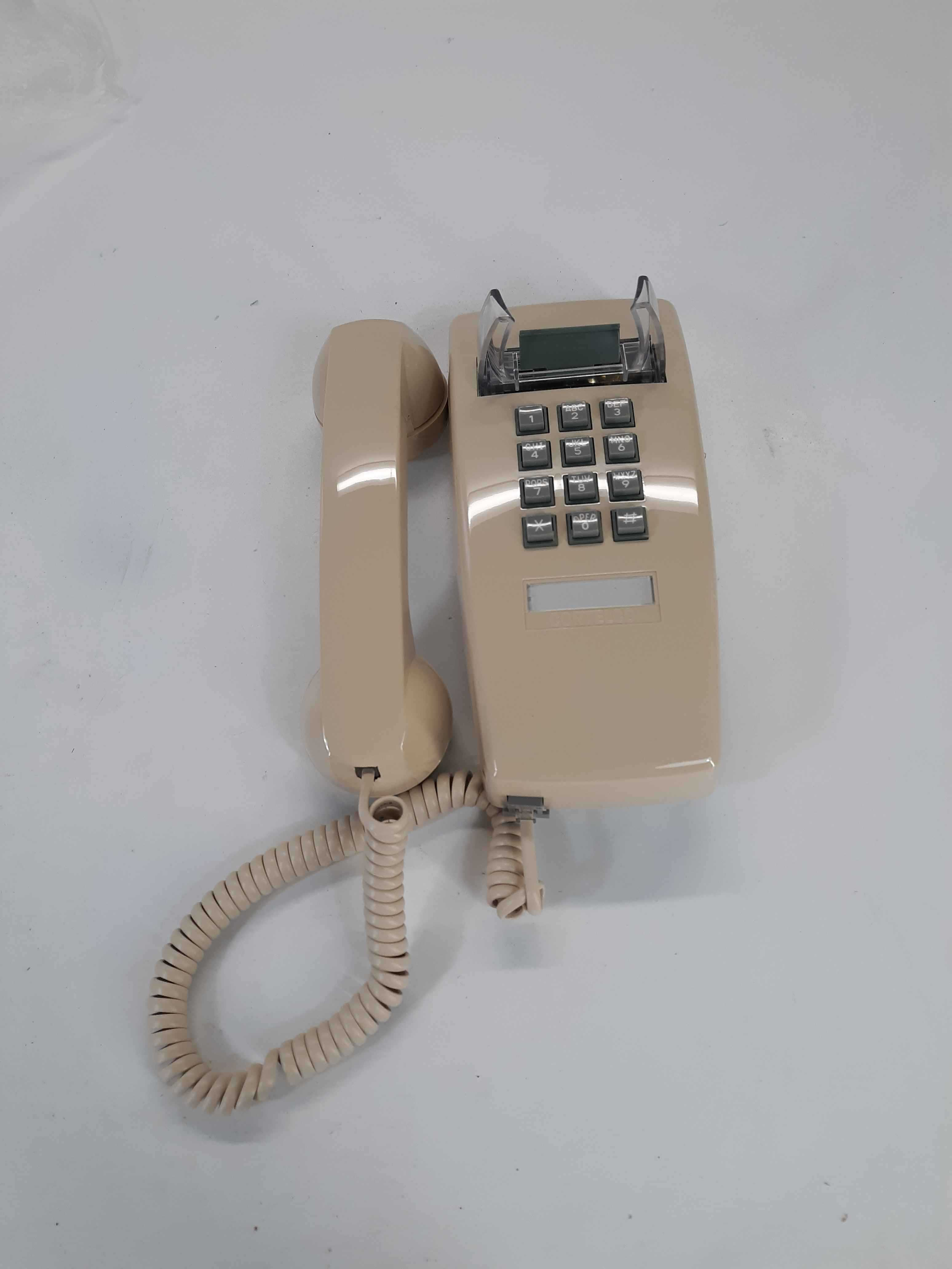 Cortelco 255444-VBA-20M  Single Line Corded Wall Phone