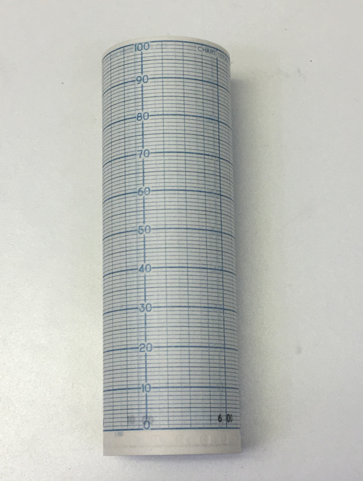 Moore Products no.10720-115 Recorder Chart  range 0-100 Lin.