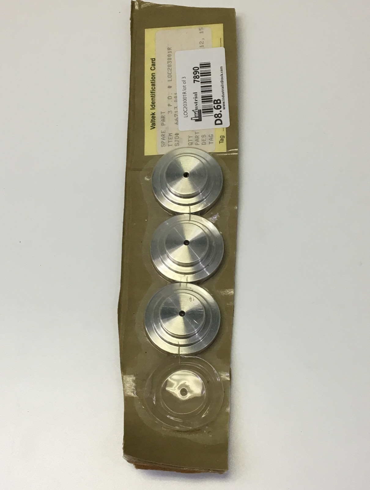 Valtek Part 002505.150.000 Spare Part 316 Stainless Steel  lot of 3