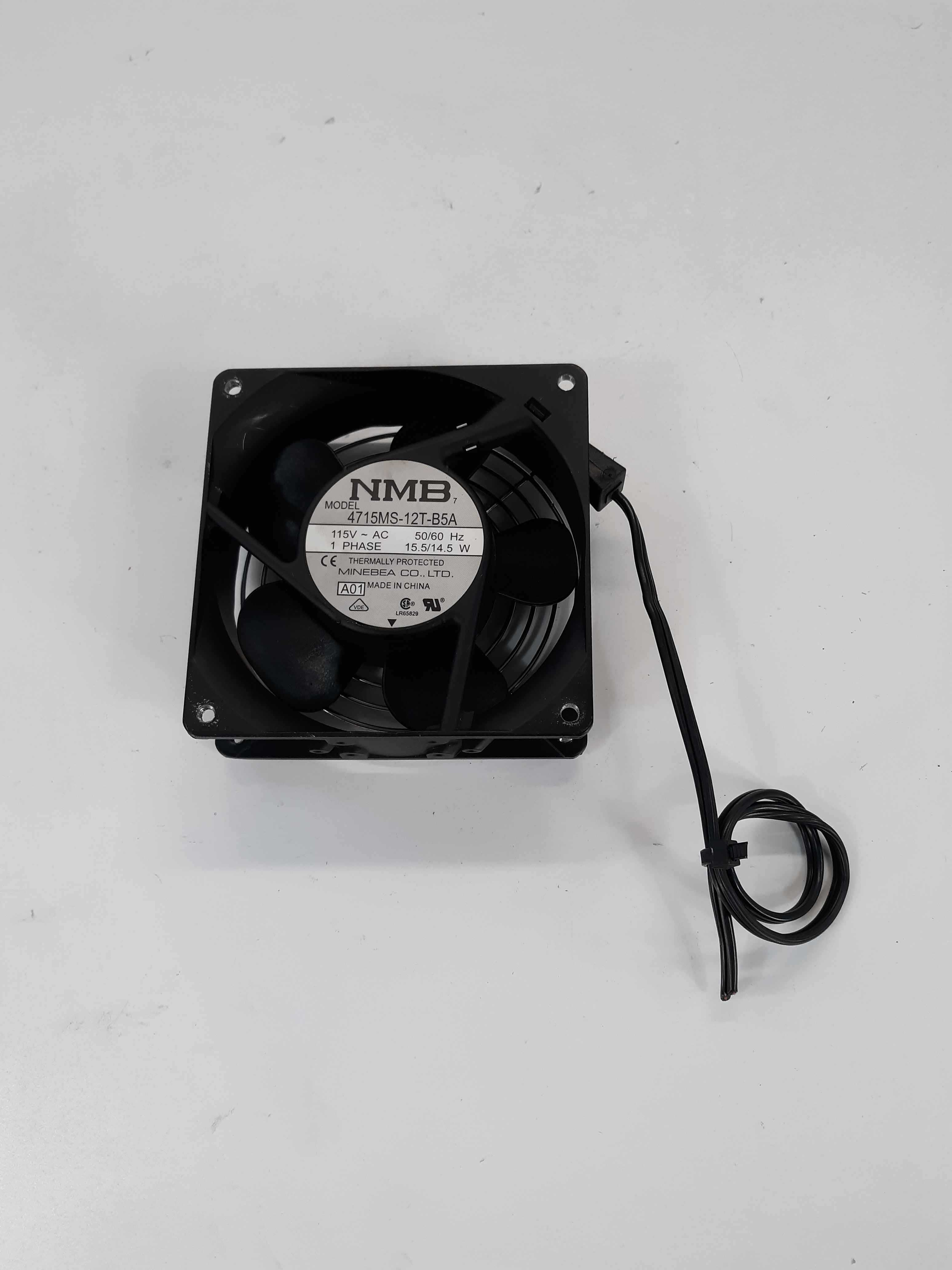 NMB Minebea 4715MS-12T-B5A 115V AC Thermally Protected Fan