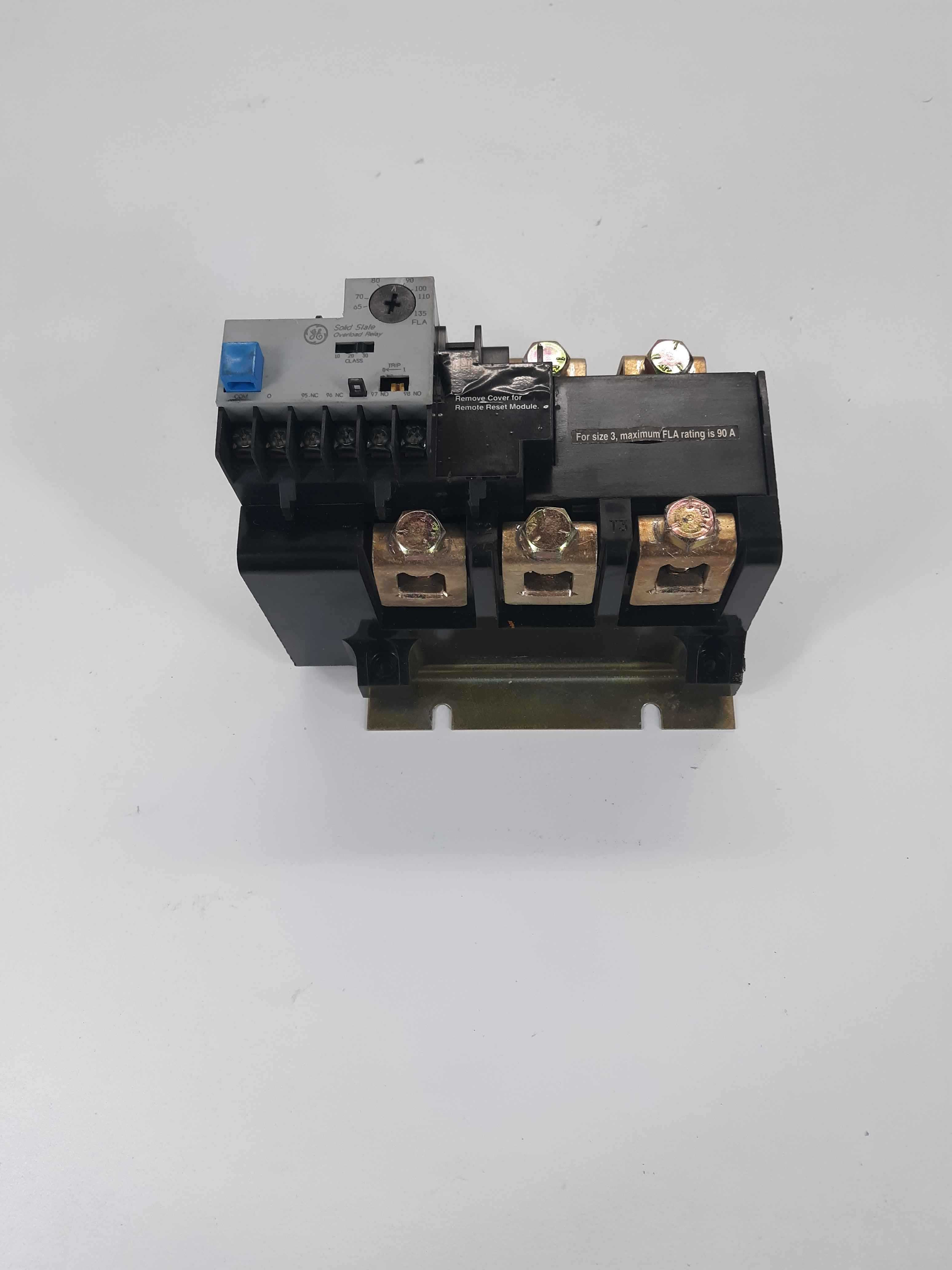 General Electric CR324FXMP overload relay 65-135A