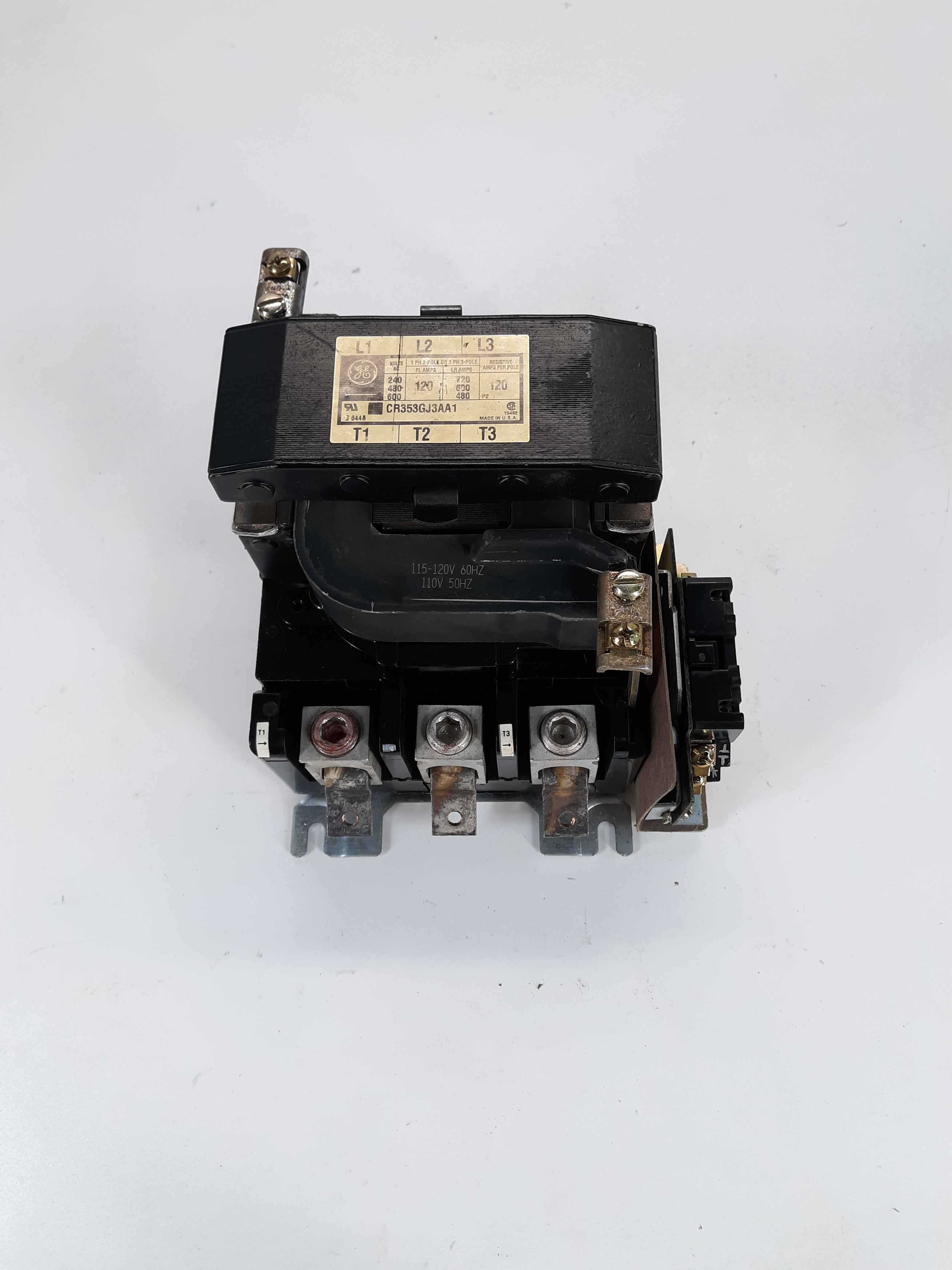 General Electric  CR353GJ3AA1 Definite Purpose Contactor 115-120v Coil
