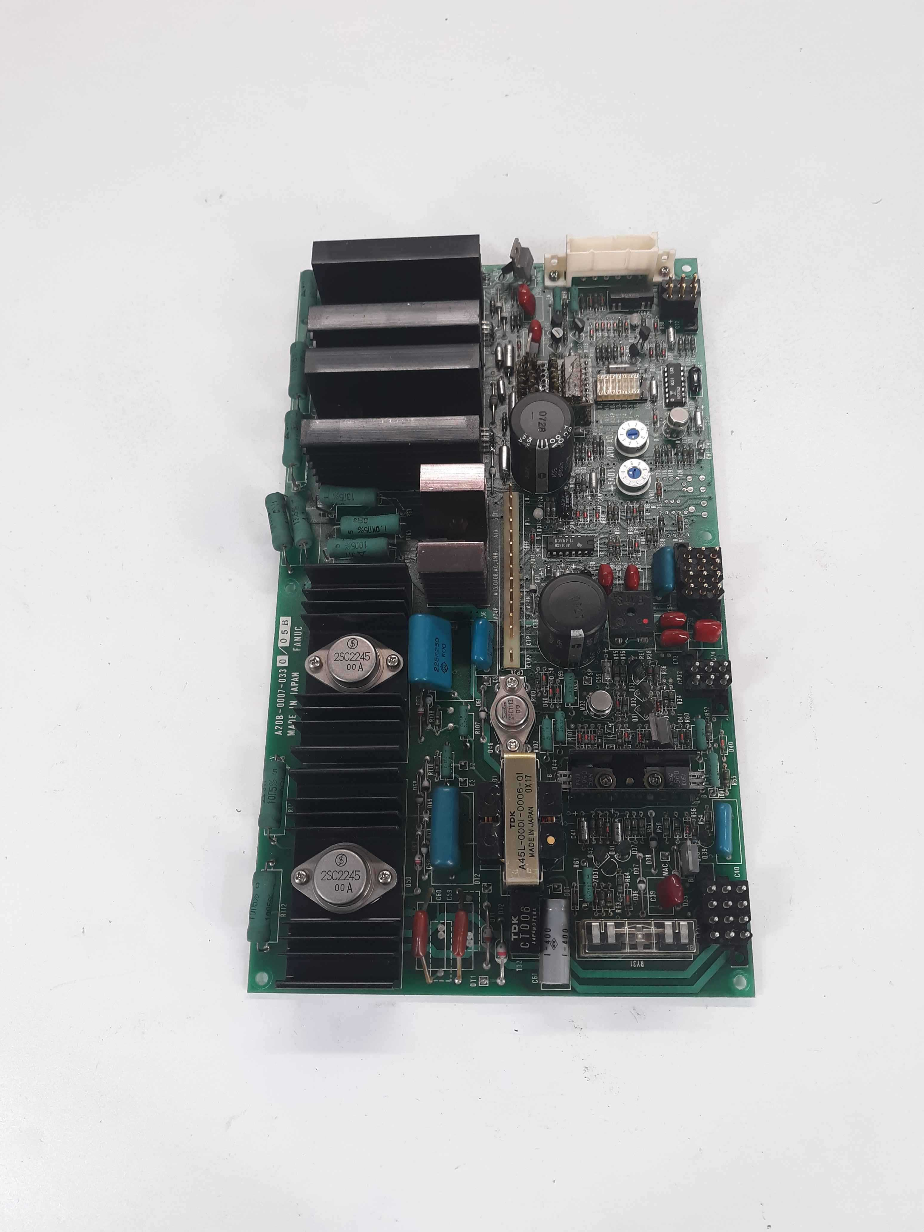 Fanuc A20B-0007-0330/05B Power Board Top