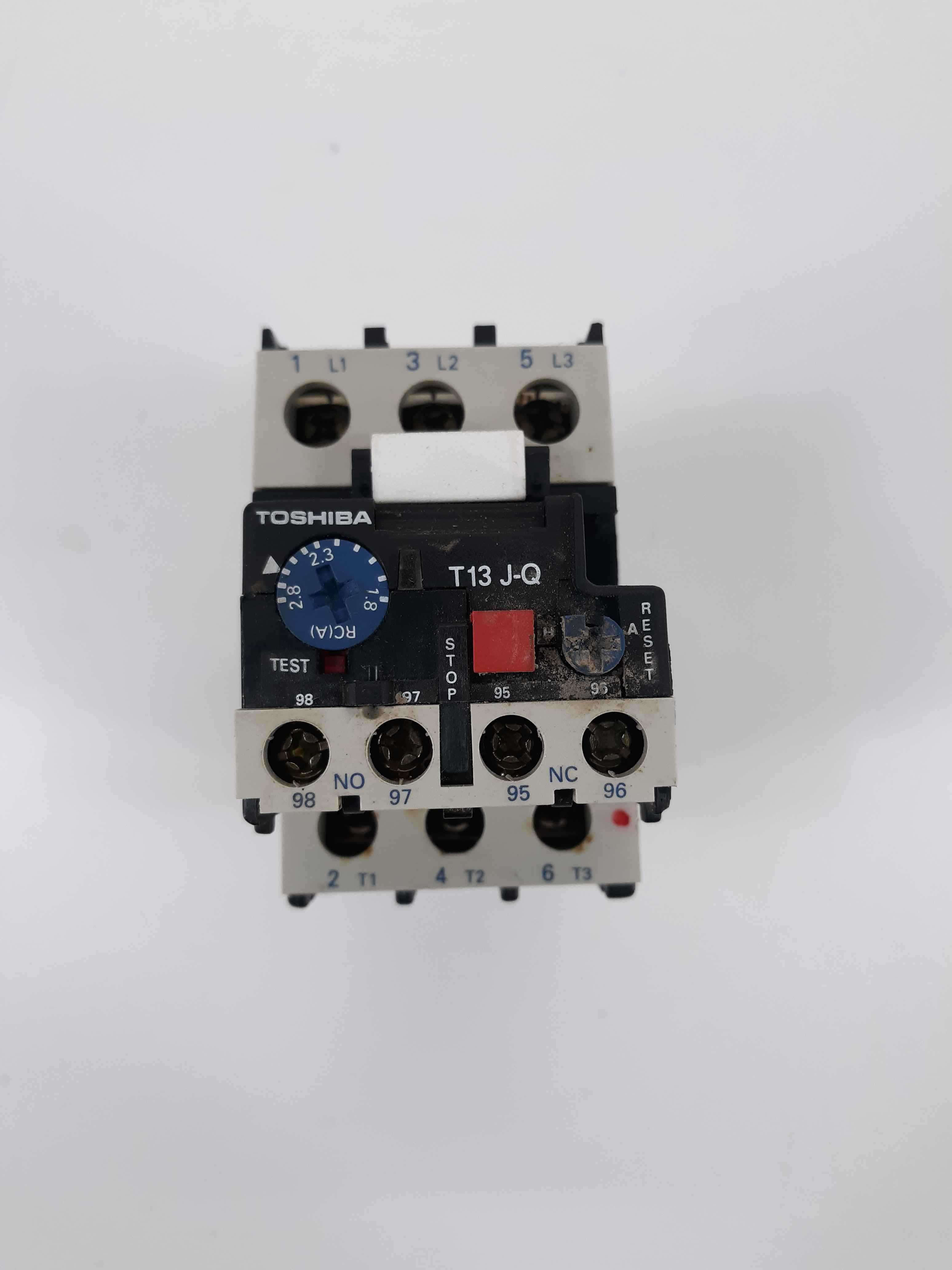 Toshiba T13 J-Q Overload Relay 1.8-2.8A