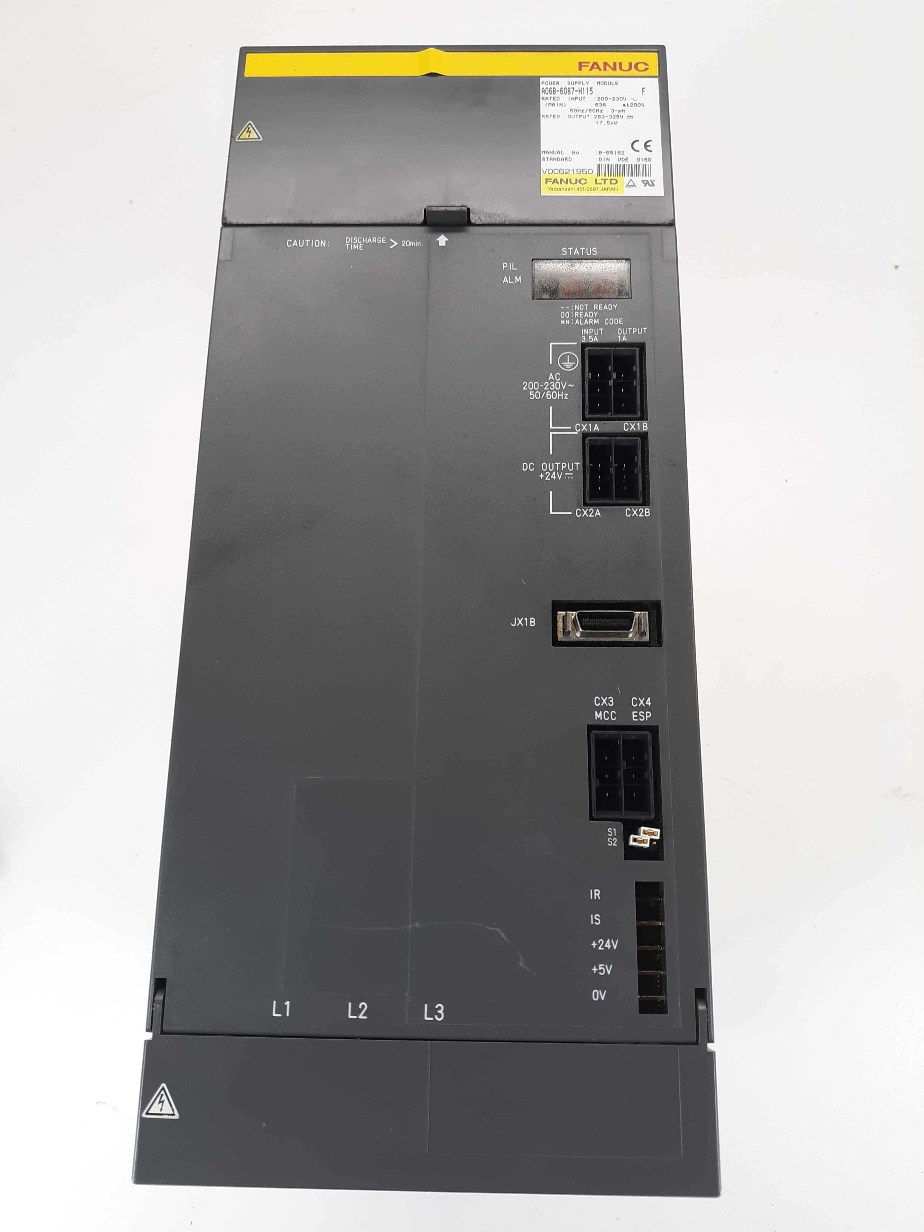 Fanuc A06B-6087-H115 F Power Supply Module