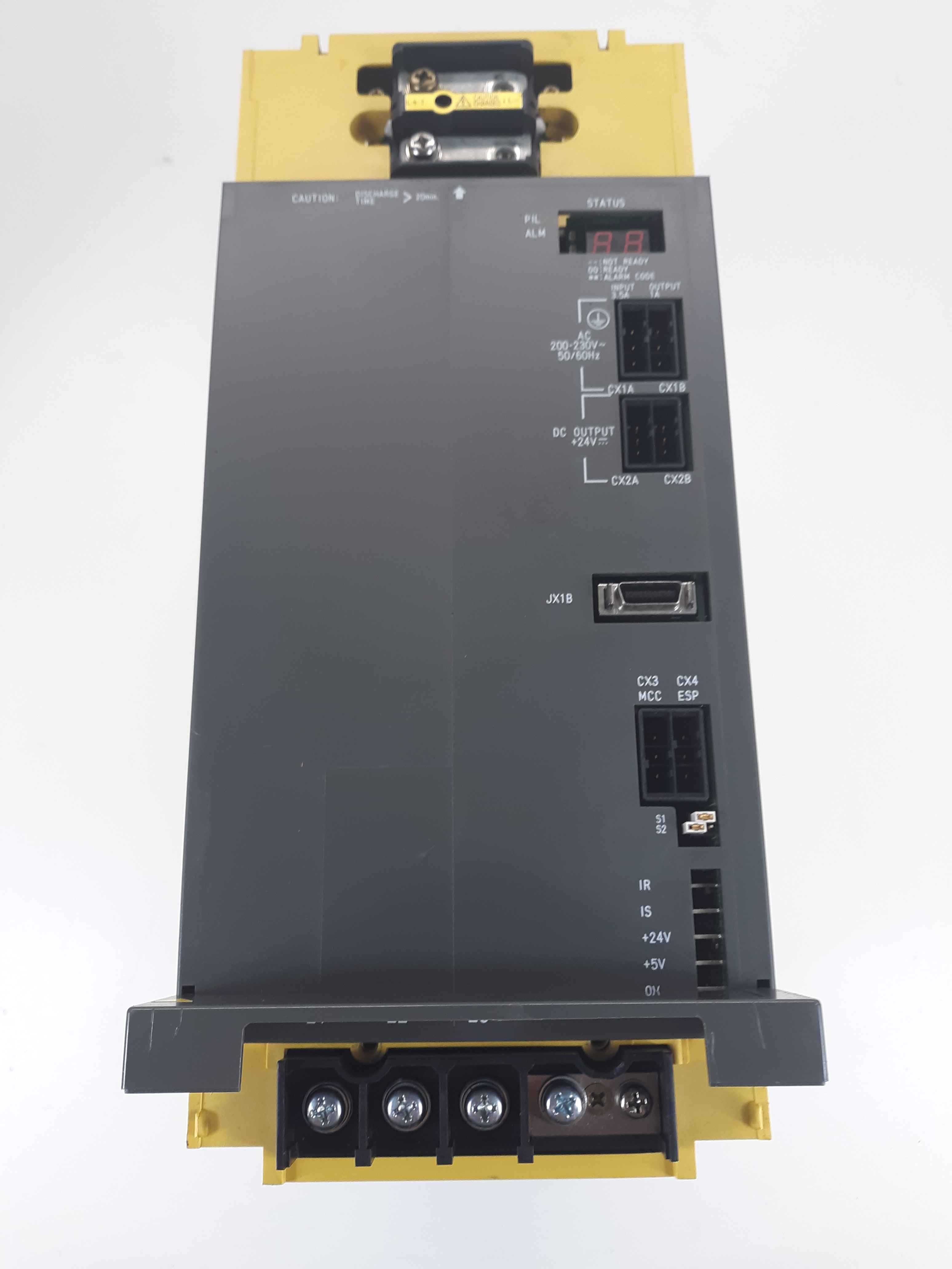 Fanuc A16B-2202-0421/11H , A20B-1006-0471/01A Amplifier Unit Power