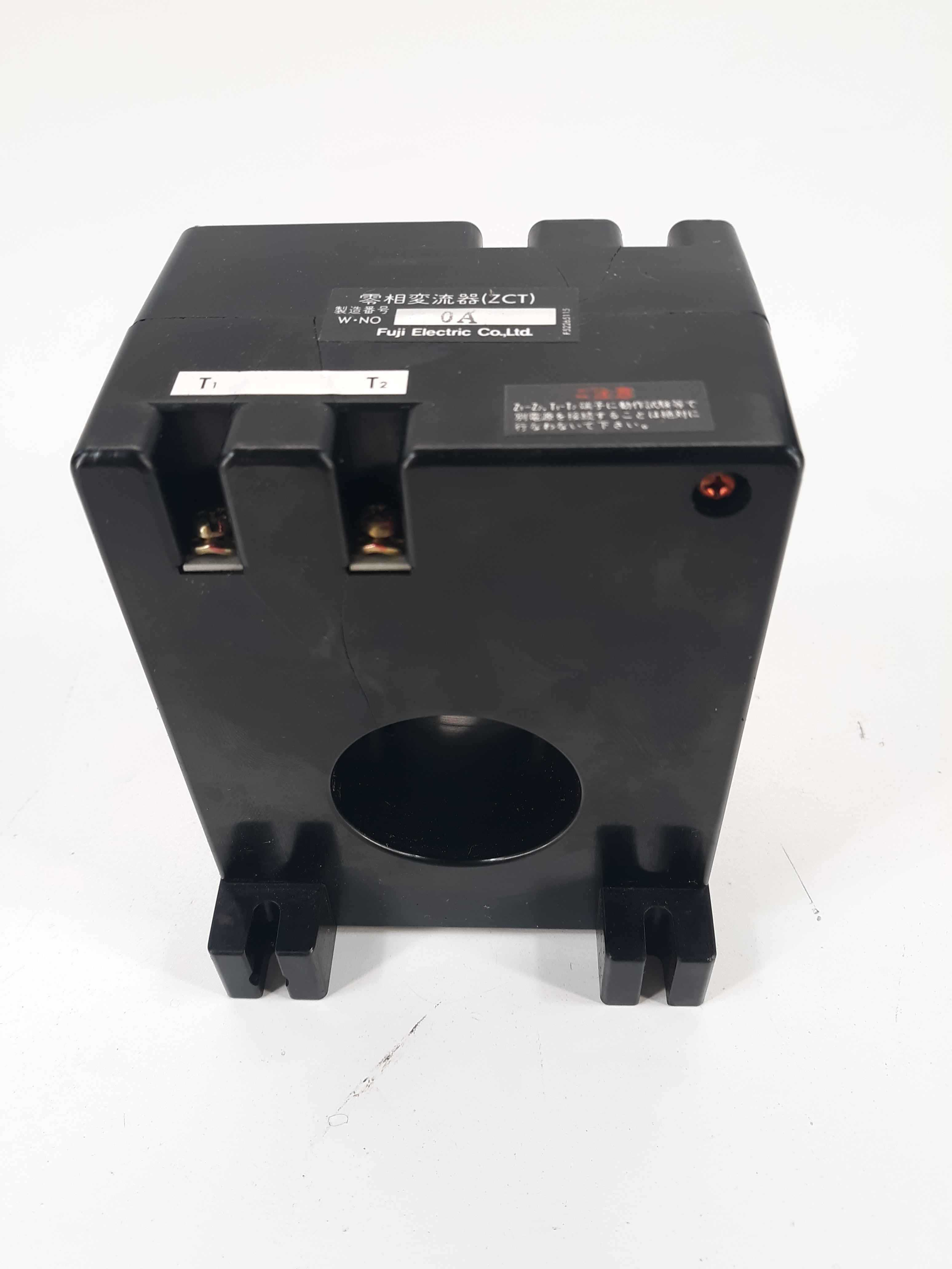 Fuji Electric ZCT-0A Current Transformers / Zero Phase / 1-5/8