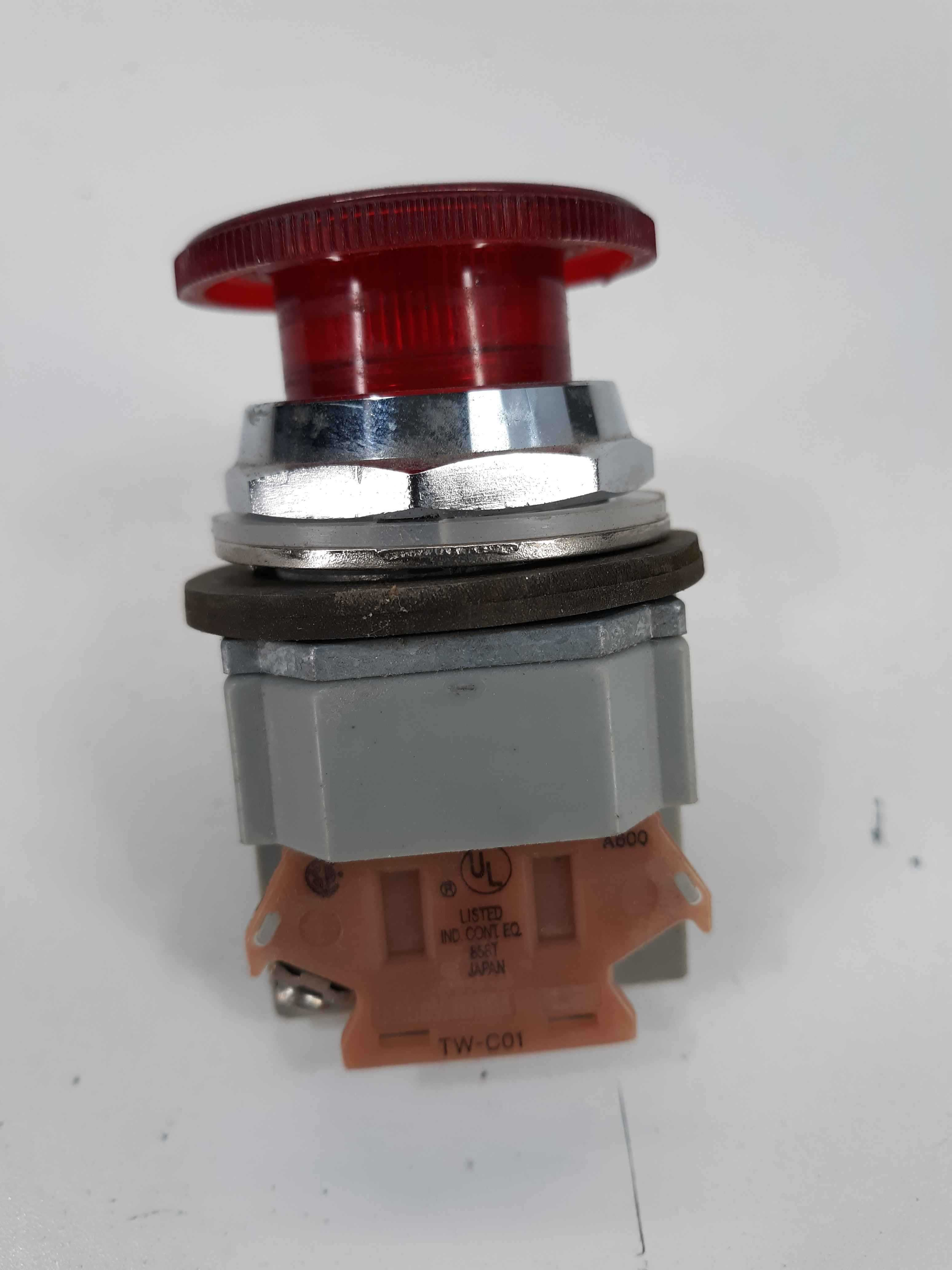 Idec AVD Red Stop Pushbutton  w/ TW-C01