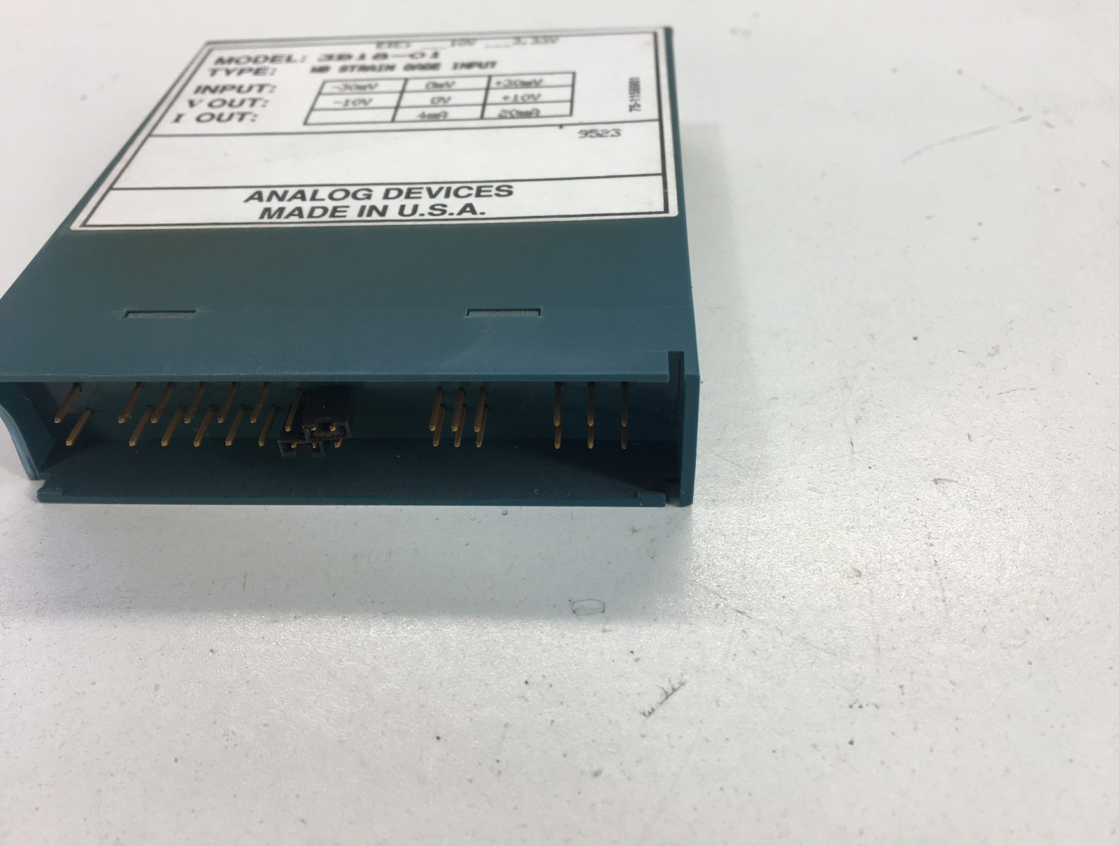 ANALOG DEVICES 3B18-01 WB STRAIN GAGE INPUT