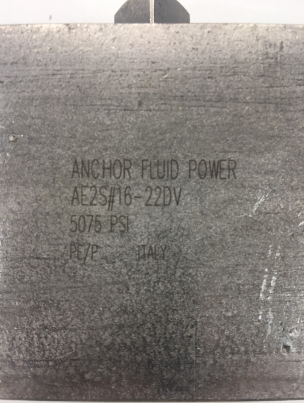 Anchor Fluid Power AE2S#16R-22DV Two Way In-Line Ball Valve