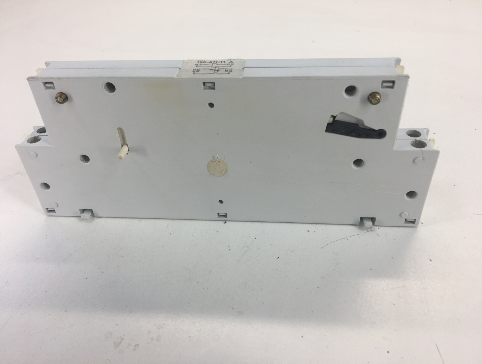 Allen Bradley 190-A11-11 Ser.A Auxiliary Contacts