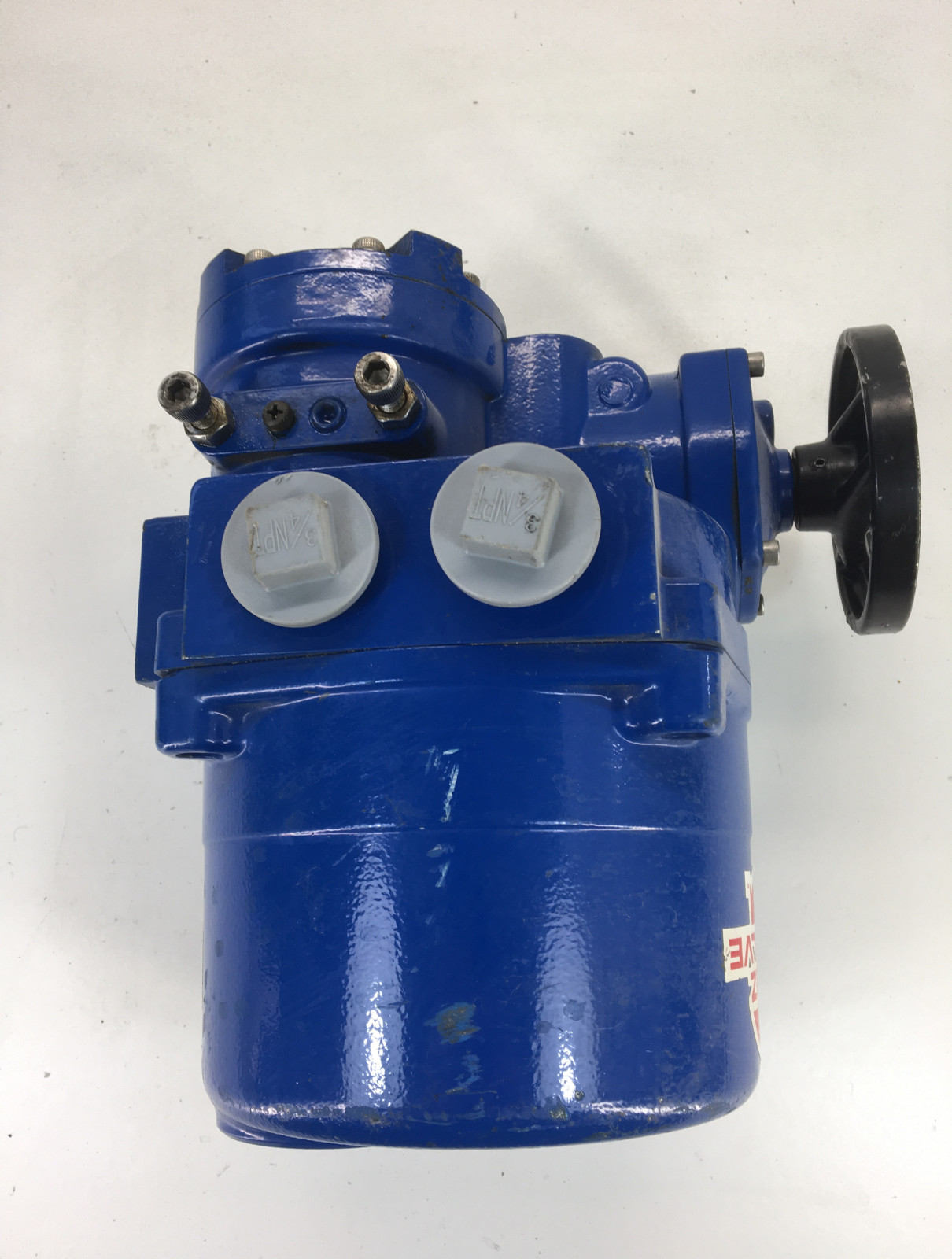 ABZ Valves & Controls TYPE ABZ6 S/N 967989 Electric Actuator