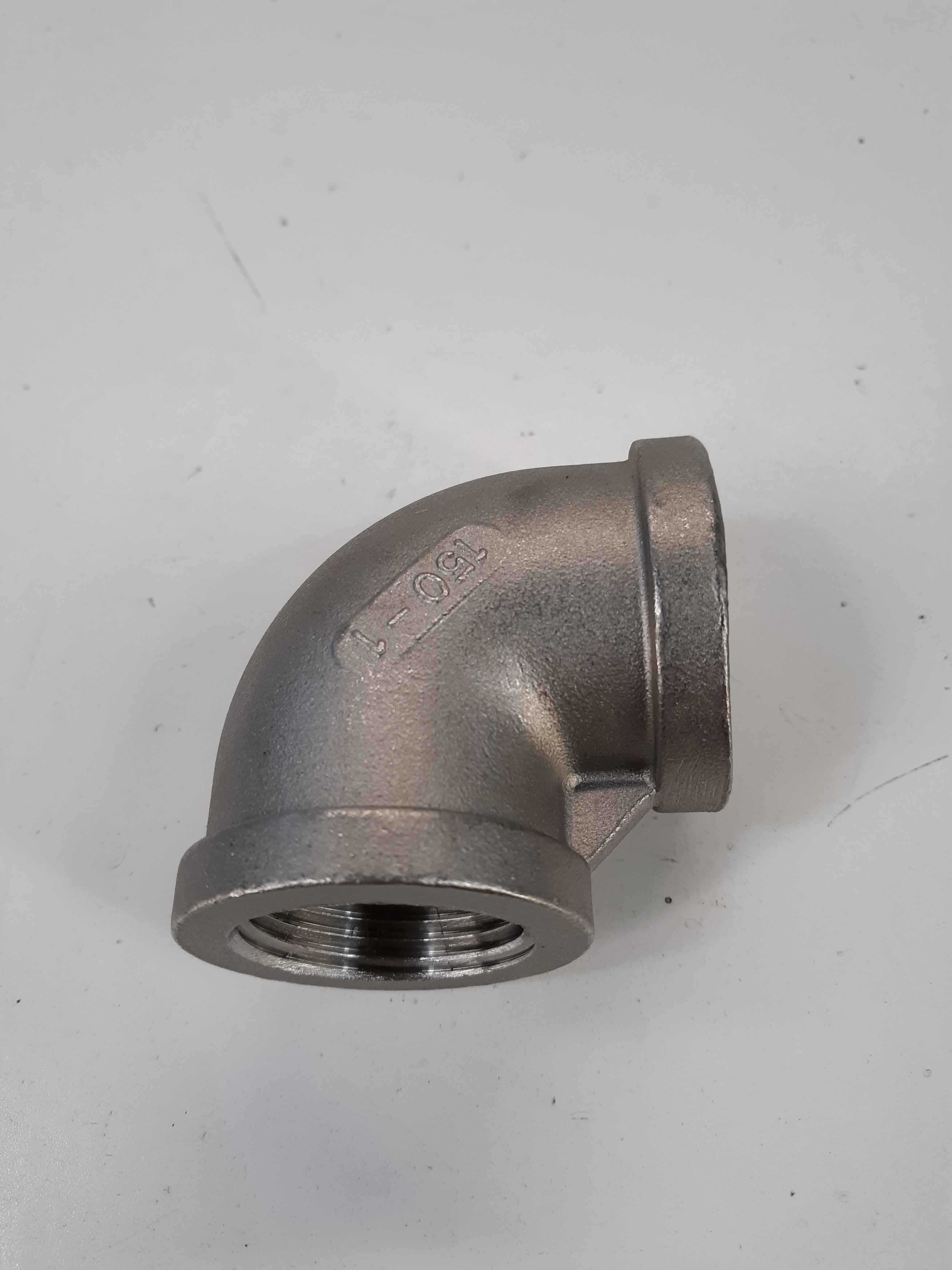 SP114 MB-304 150-1 Stainless Steel 90 Degree Elbow 1 lot of 4