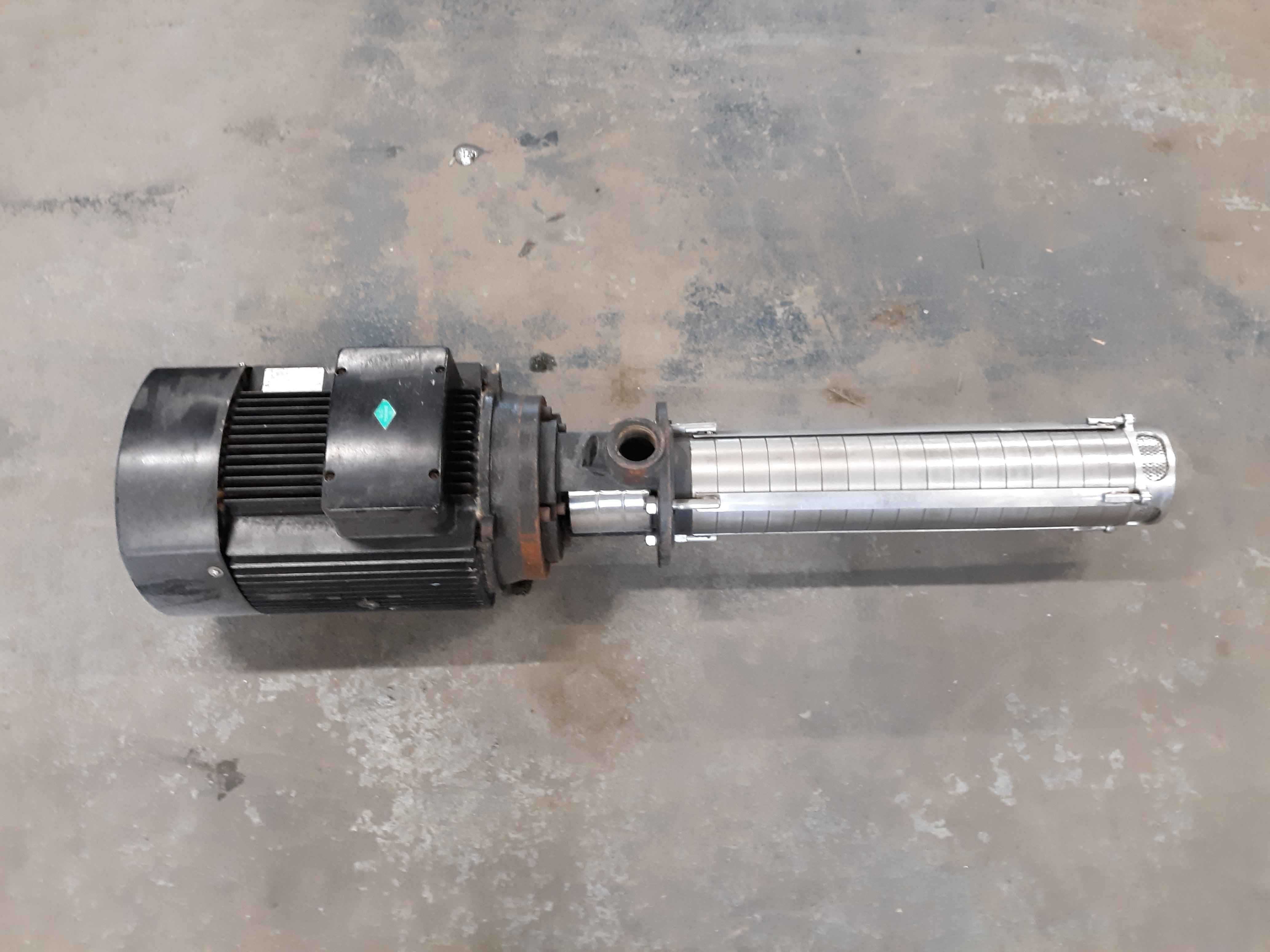 Gusher GMVCP4-160 Stainless Steel Vertical Immersion Pump