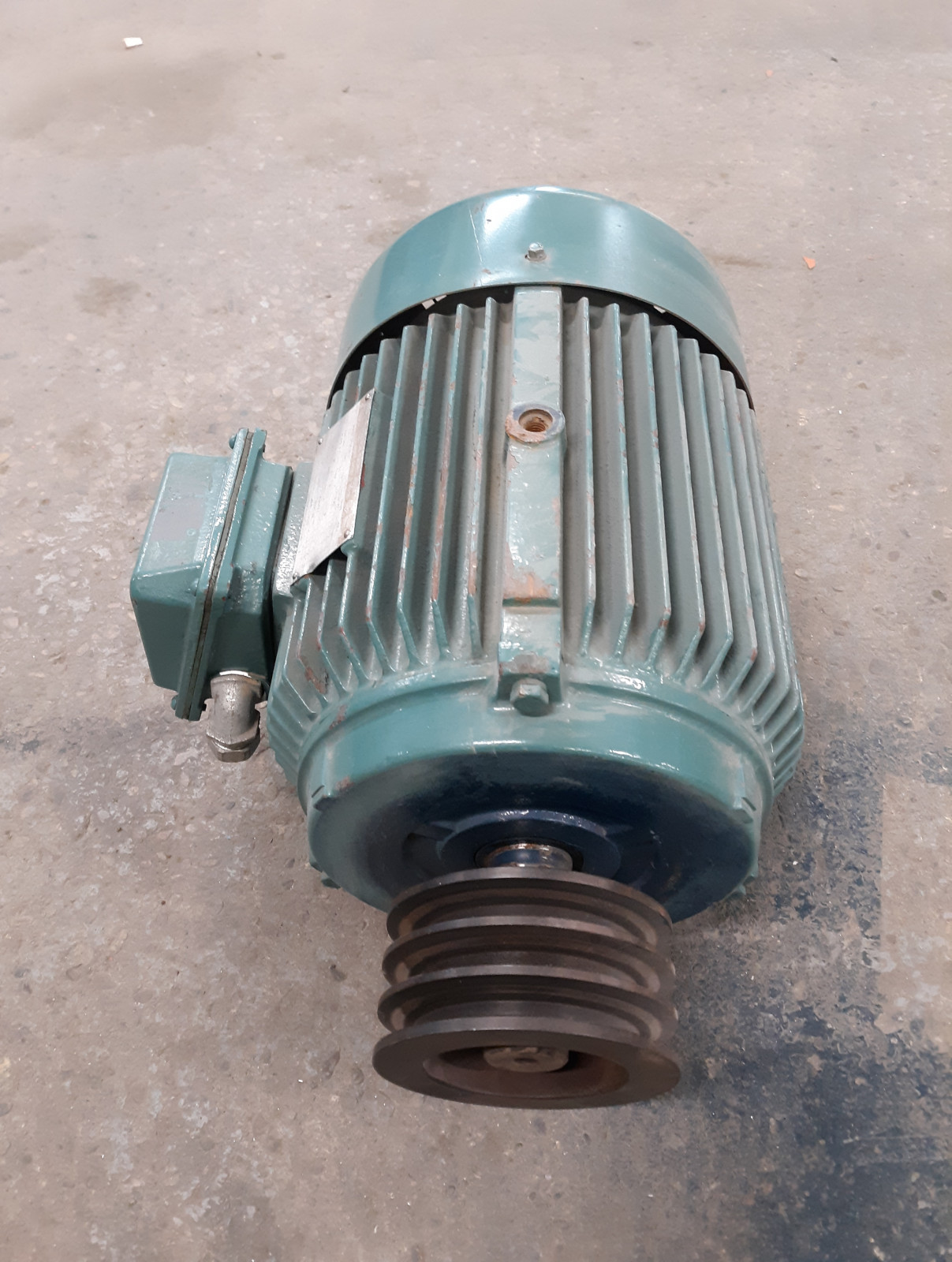 Worldwide Electric WWE7.5-18-213T Motor HP7.5 FR213T RPM1760 VOLT230/460 3PHASE