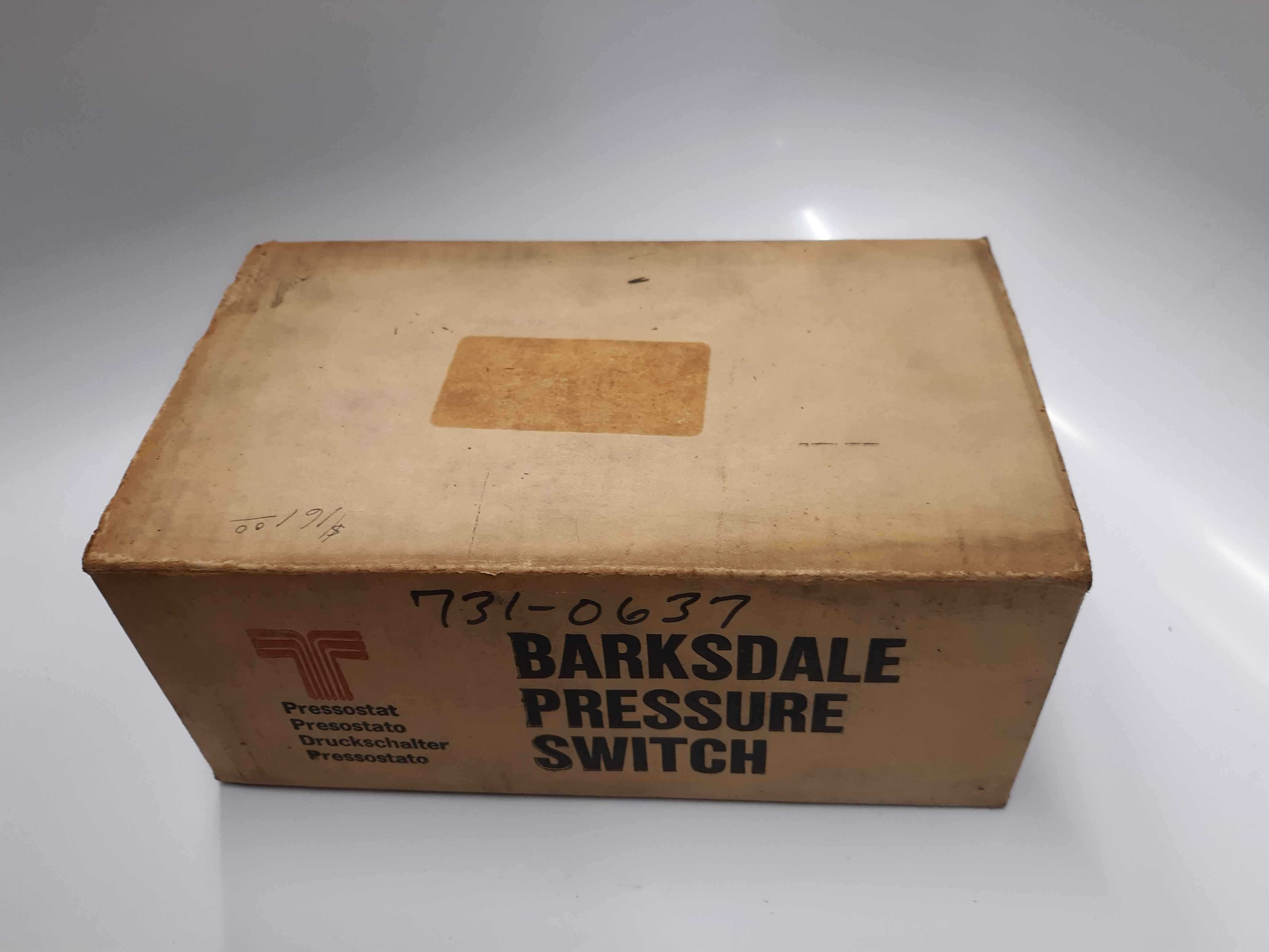 Barksdale Controls Pressure Switch DPD2T-H18