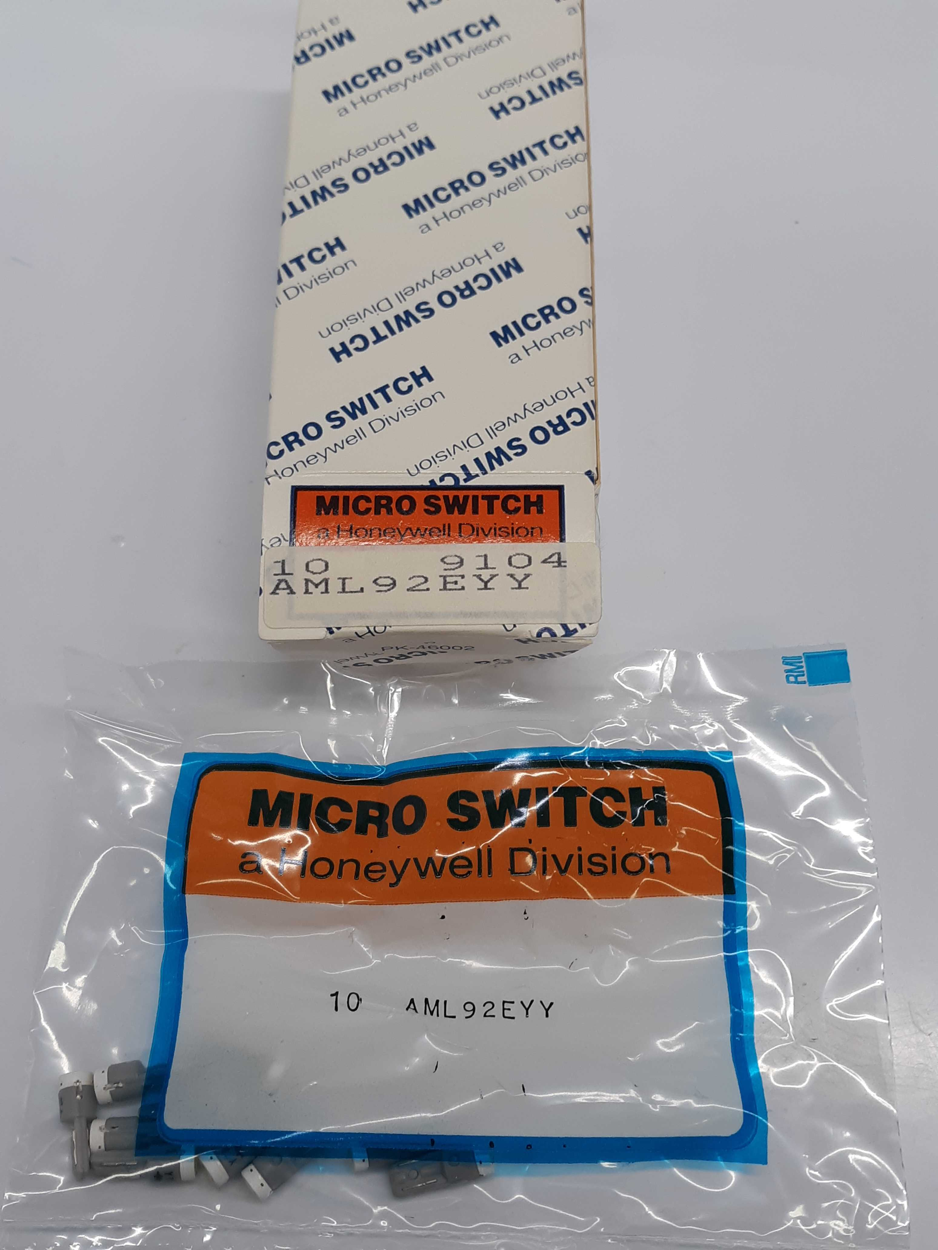 Micro Switch Honeywell 10 Light Emitting Diode Connectors AML92EYY