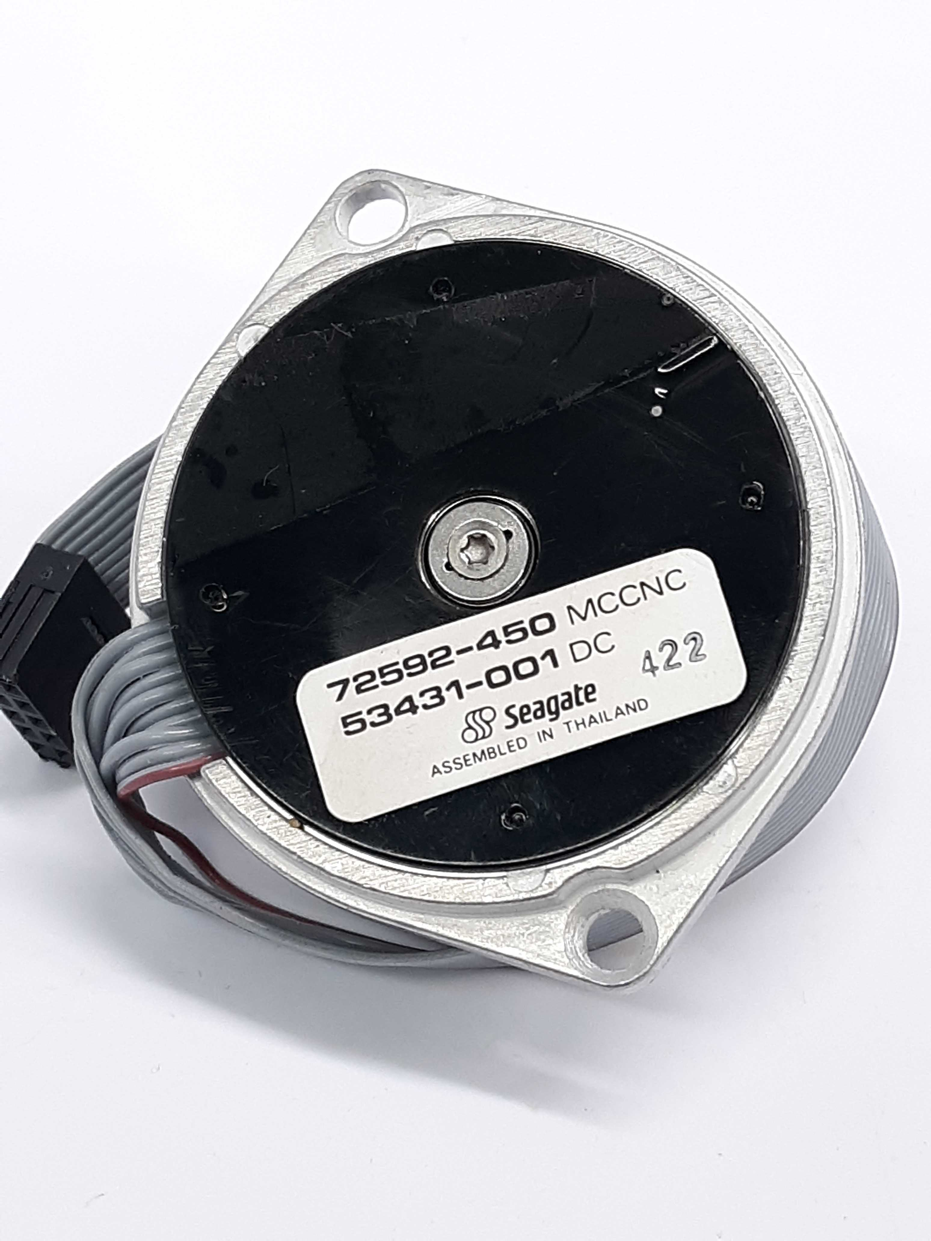Seagate 53431-001 DC Stepping Stepper Drive Motor Model 72592-450 MCCNC