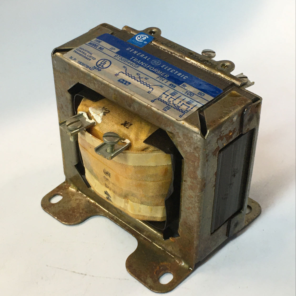 General Electric Dry Type Industrial Control Transformer 9T58B44G8 60HZ